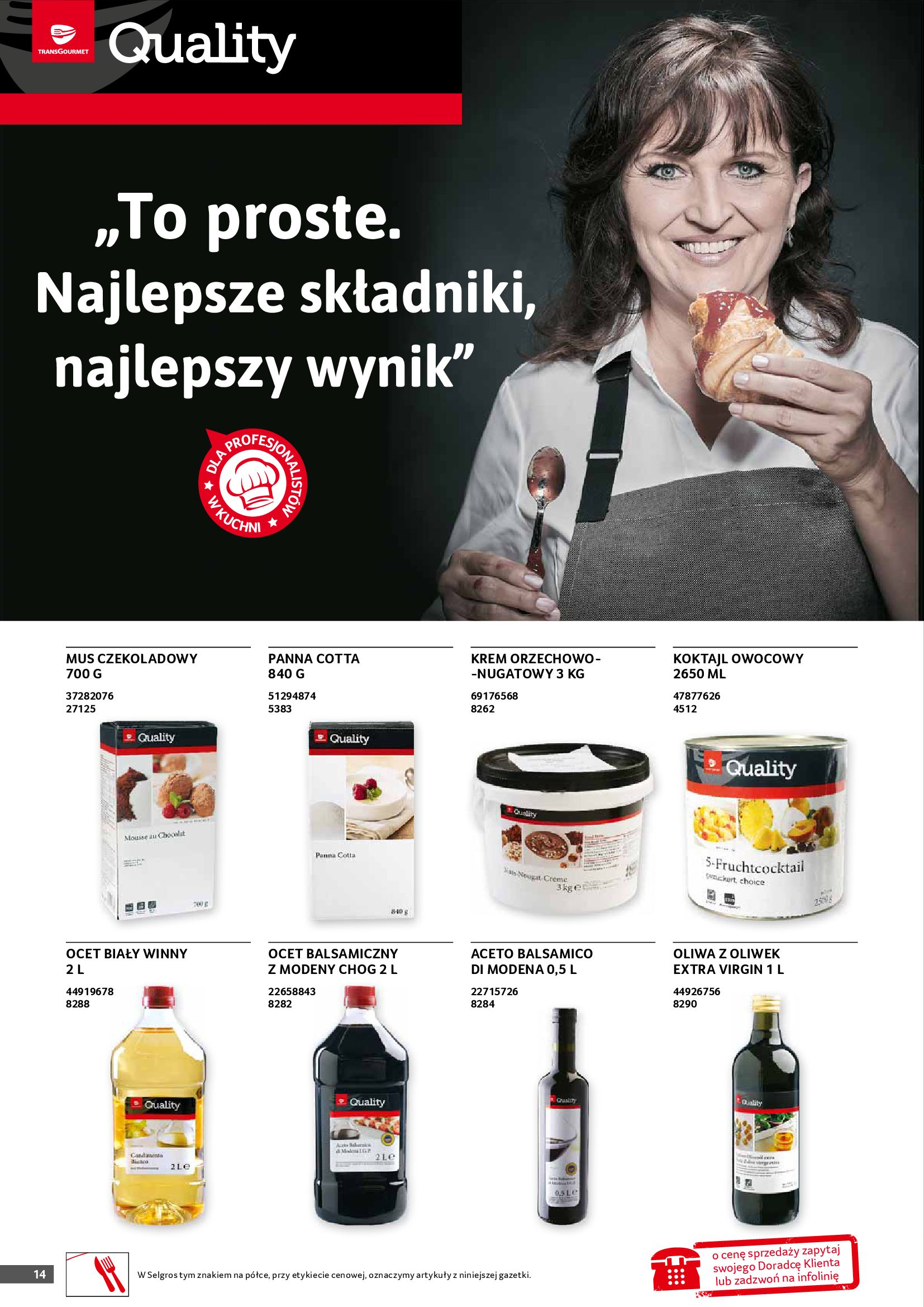 Gazetka Selgros: Gazetka Selgros - Gastronomia 2021-08-01 page-14