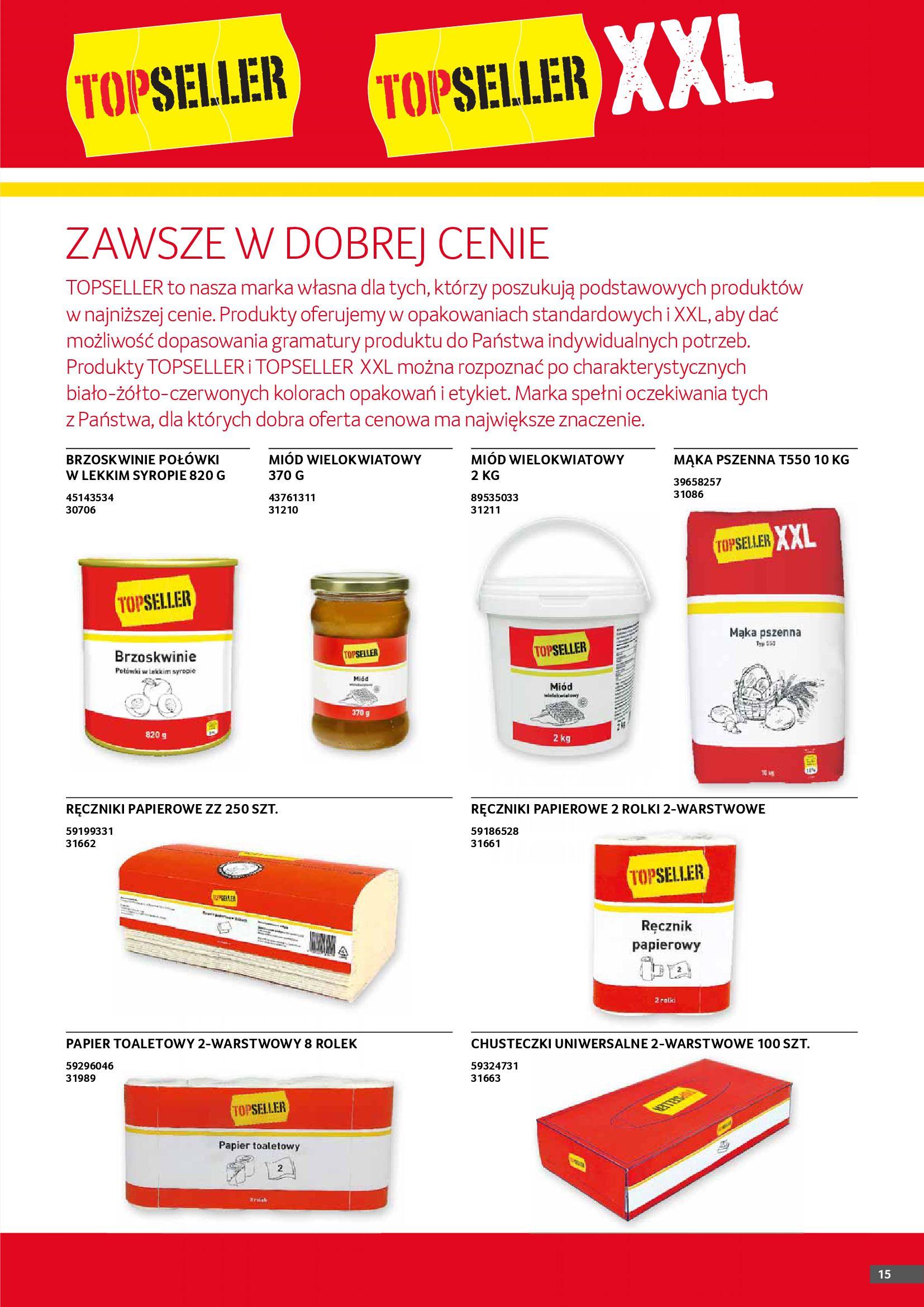 Gazetka Selgros: Gazetka Selgros - Gastronomia 2021-08-01 page-15
