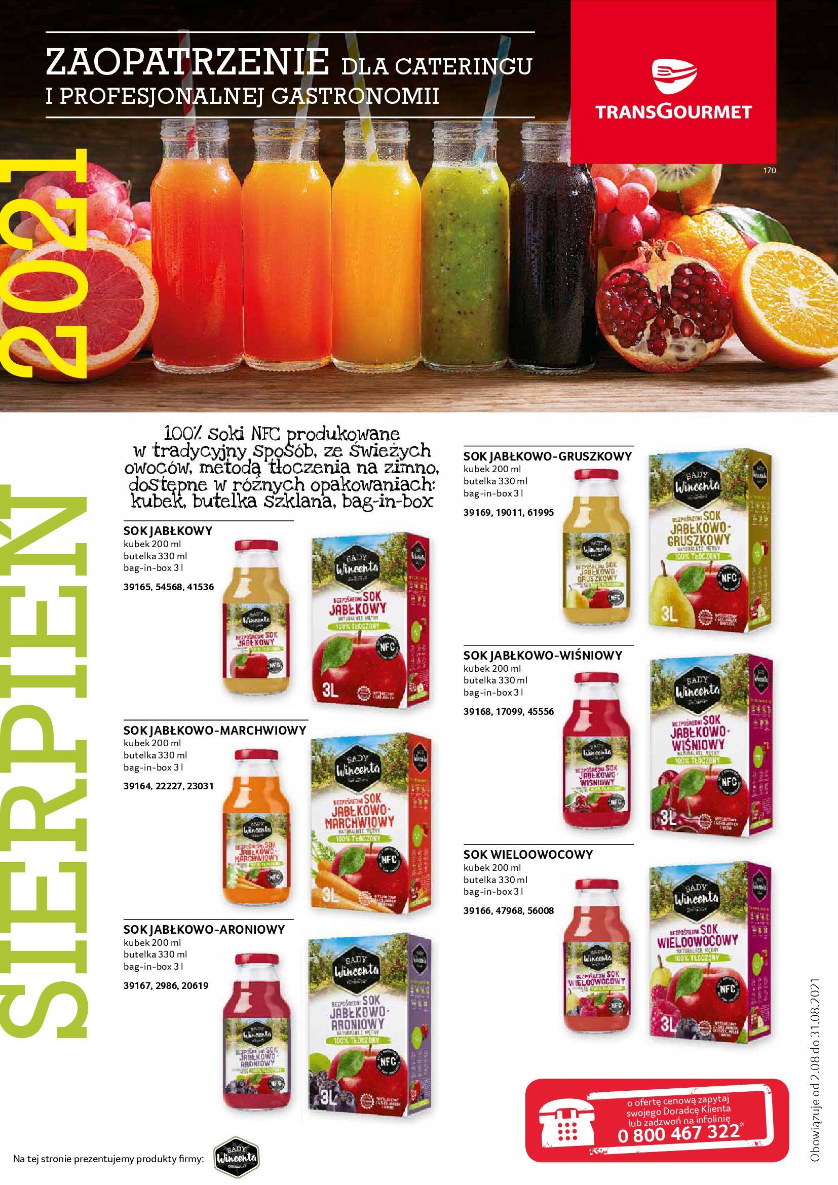 Gazetka Selgros: Gazetka Selgros - Gastronomia 2021-08-01 page-17