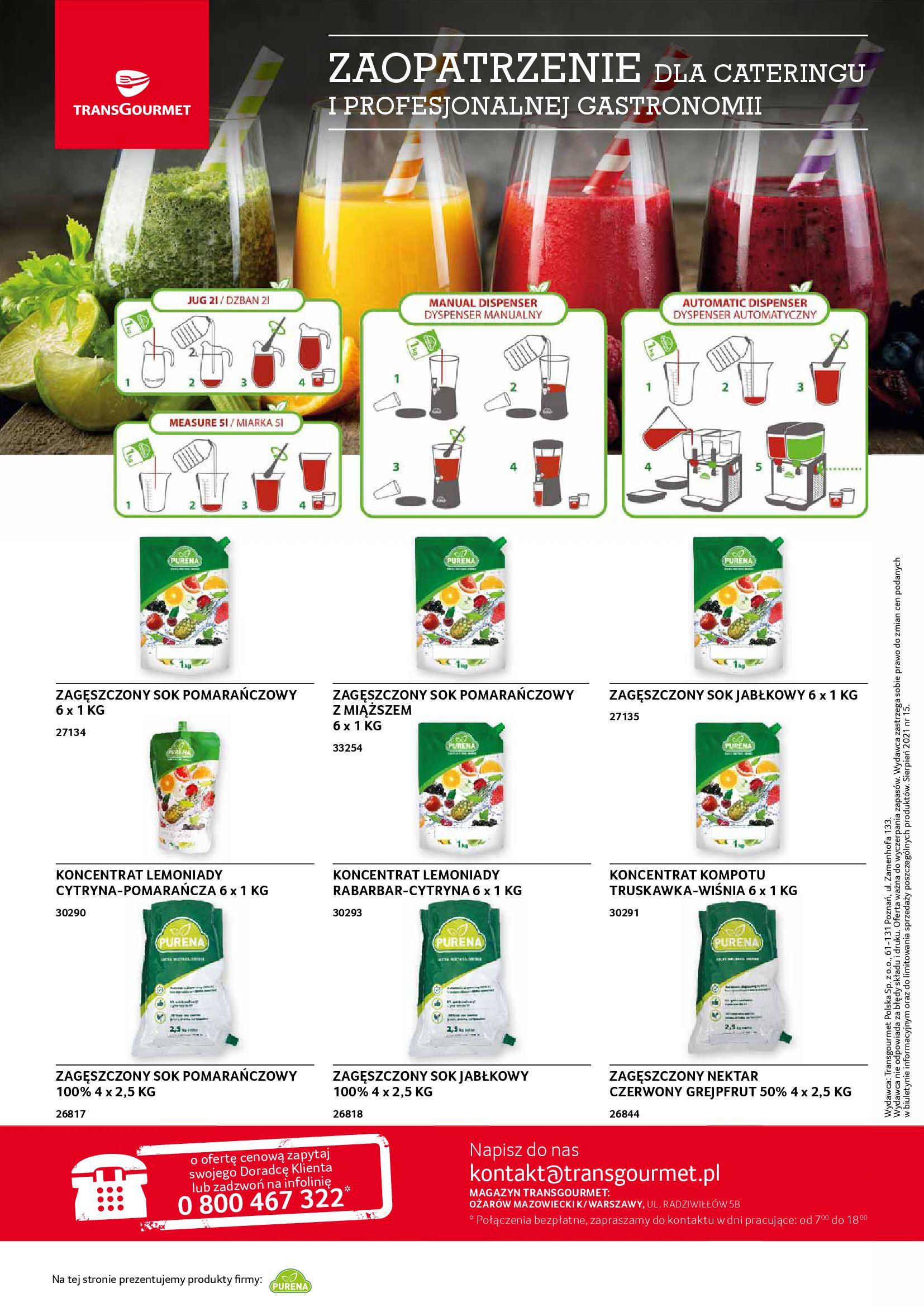 Gazetka Selgros: Gazetka Selgros - Gastronomia 2021-08-01 page-20