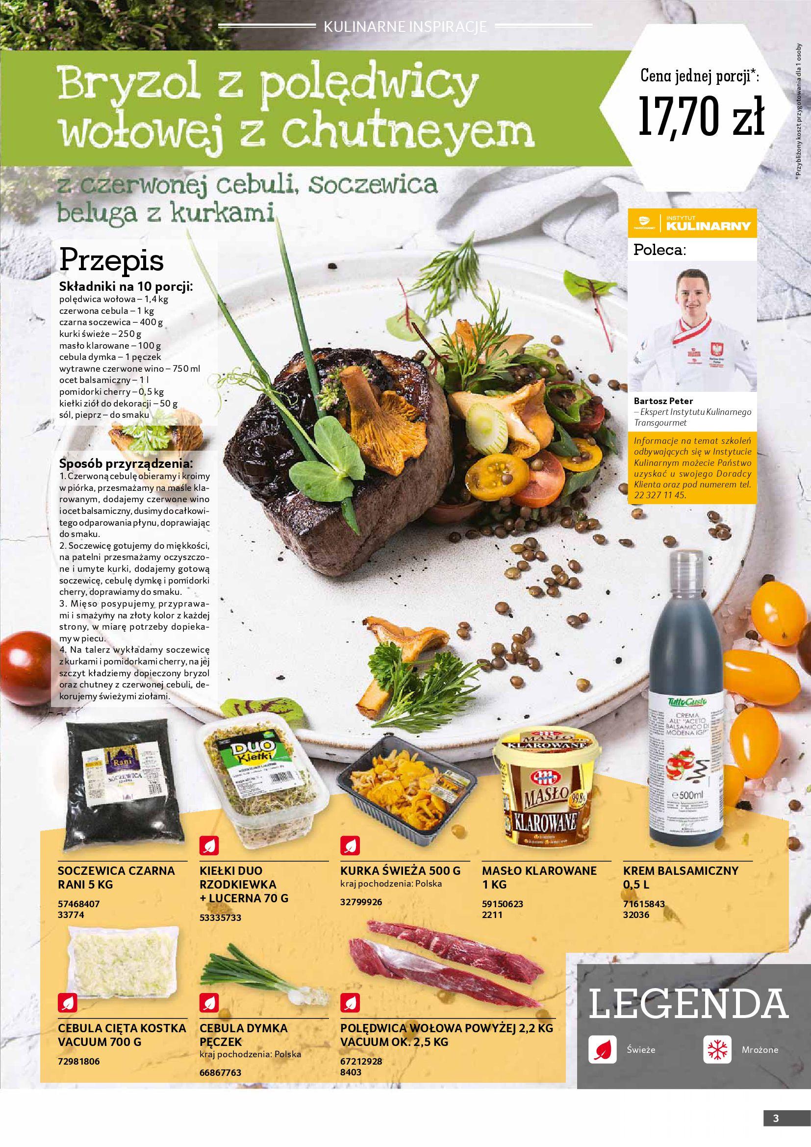 Gazetka Selgros: Gazetka Selgros - Gastronomia 2021-08-01 page-3