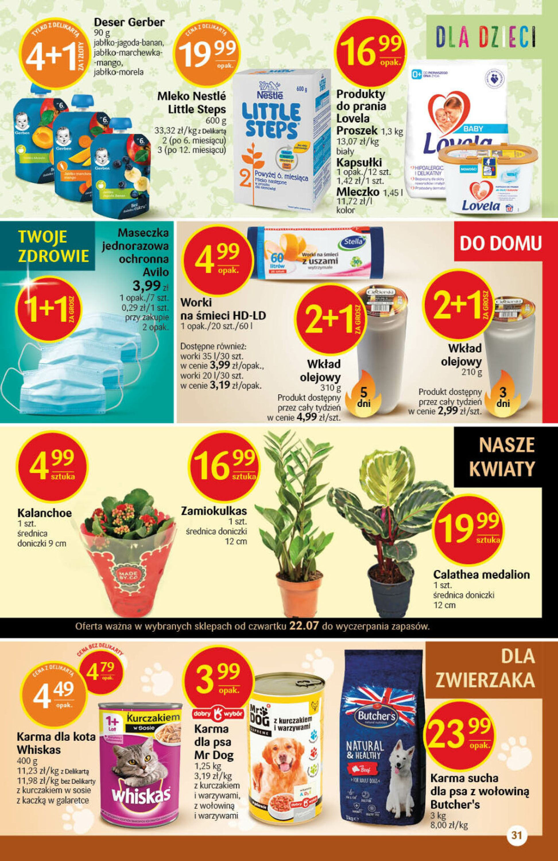 Gazetka Delikatesy Centrum: Gazetka Delikatesy Centrum 2021-07-22 page-31