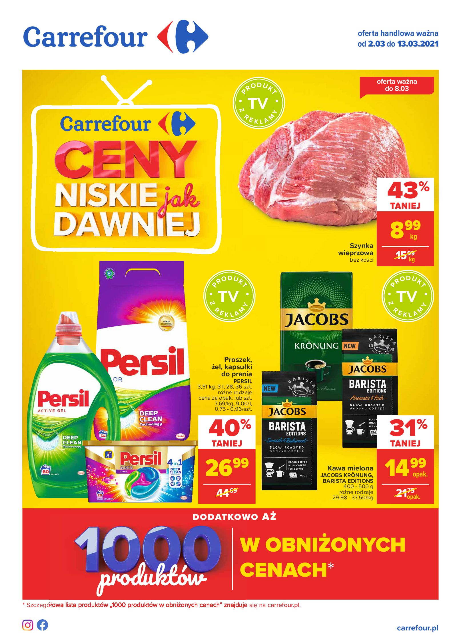 Carrefour:  Gazetka Carrefour 01.03.2021