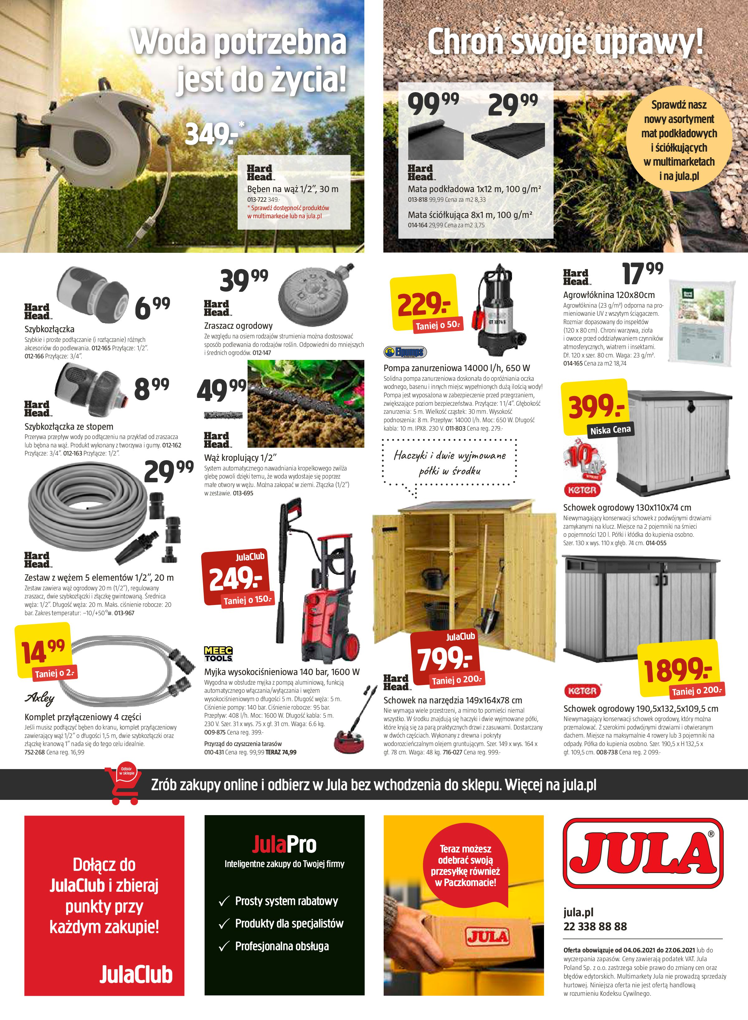 Gazetka Jula: Gazetka Jula - Twój ogród potrzebuje serca 2021-06-04 page-4