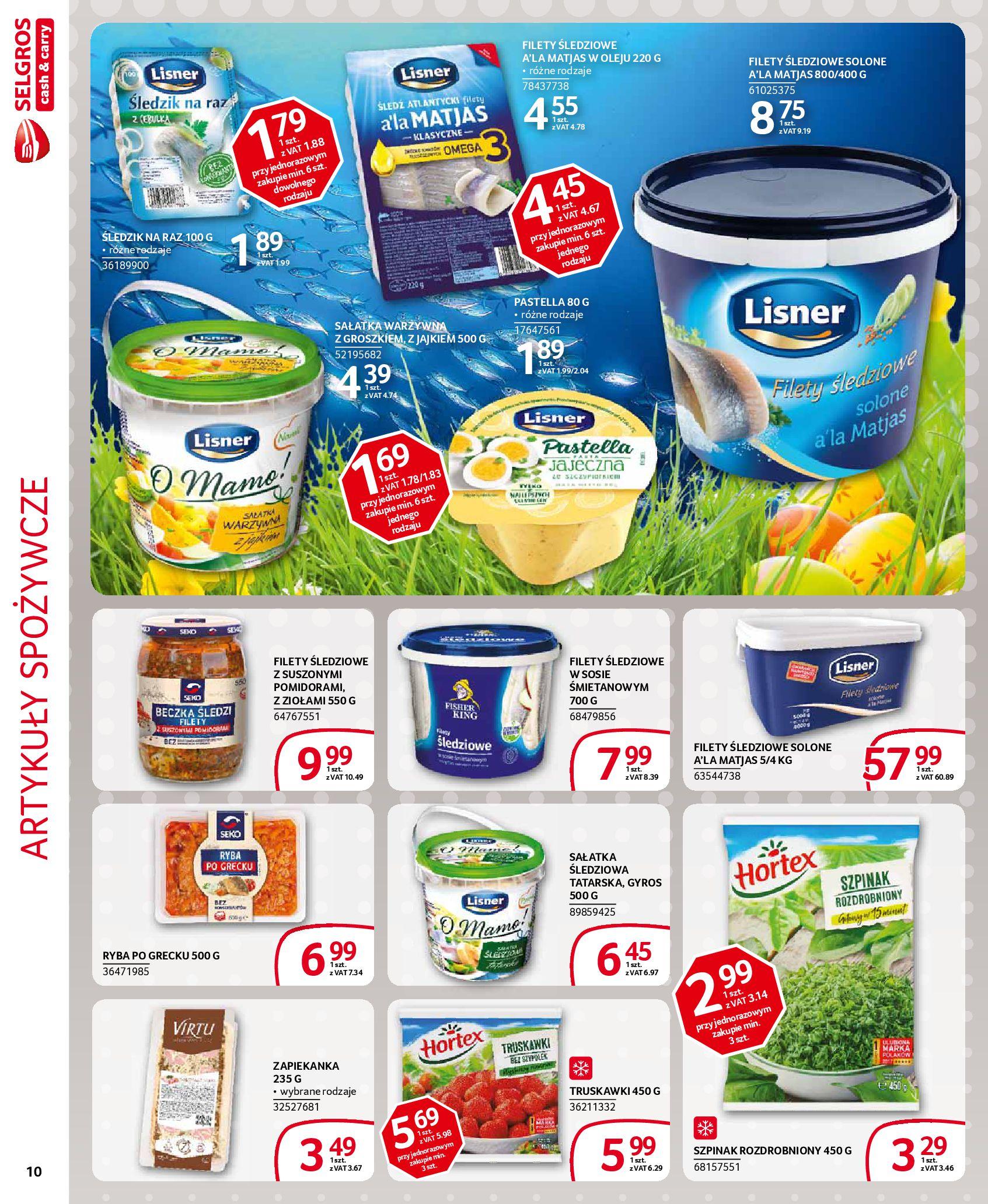 Gazetka Selgros - Extra oferta-18.03.2020-31.03.2020-page-10