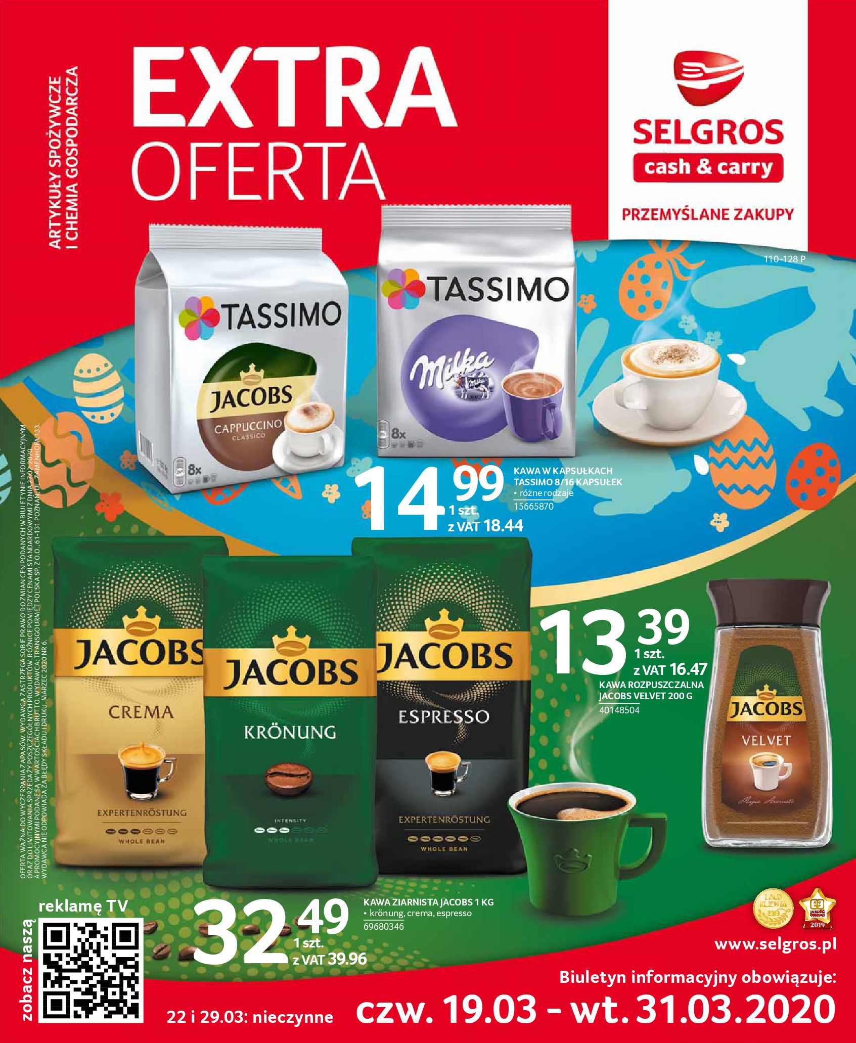 Gazetka Selgros - Extra oferta-18.03.2020-31.03.2020-page-1