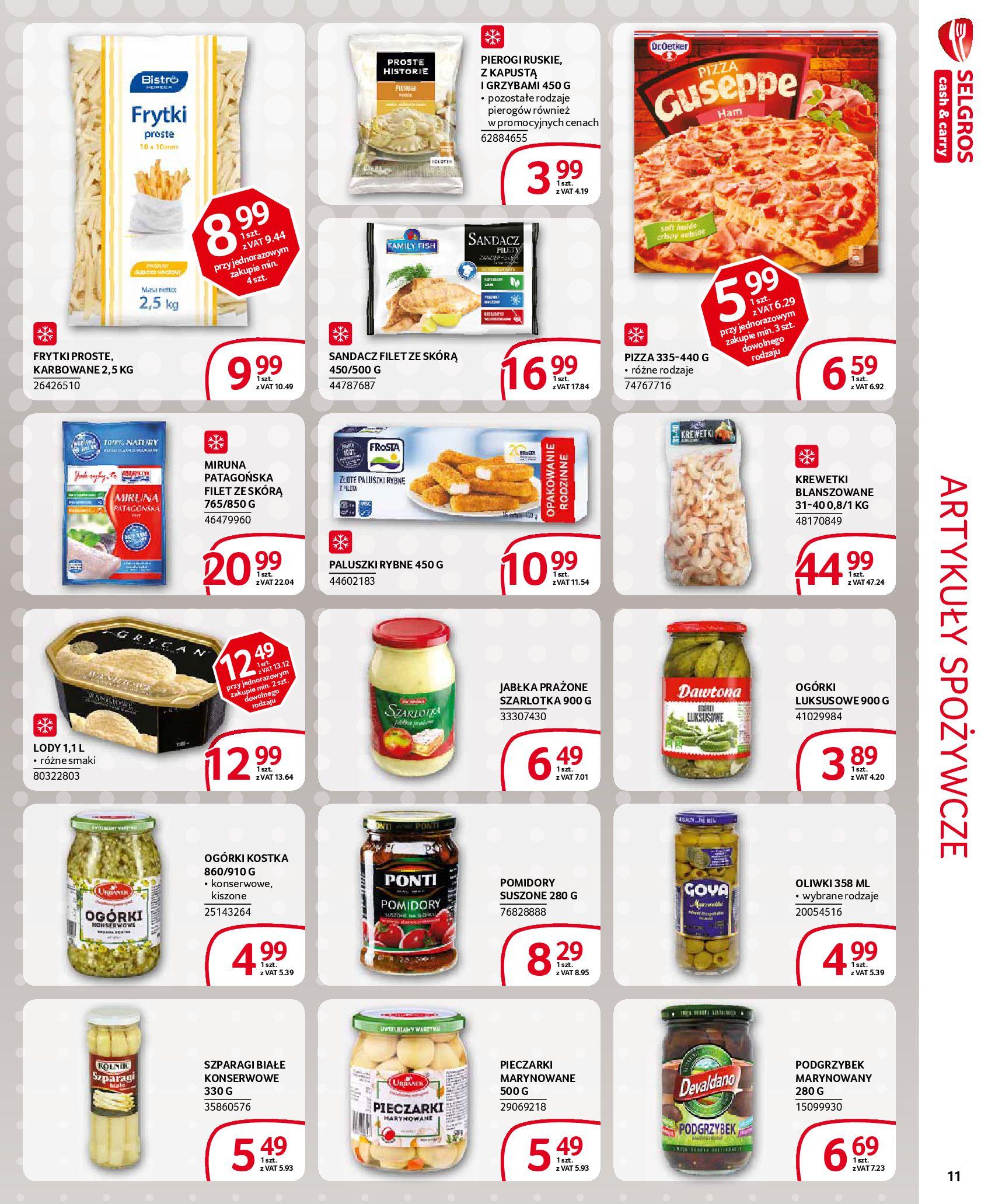 Gazetka Selgros - Extra oferta-18.03.2020-31.03.2020-page-11