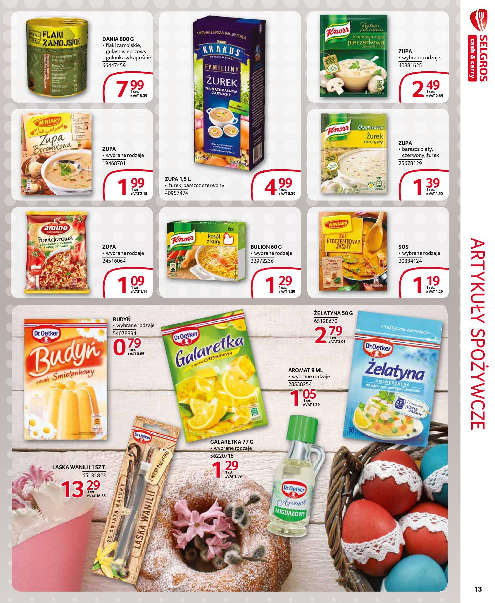 Gazetka Selgros - Extra oferta-18.03.2020-31.03.2020-page-13