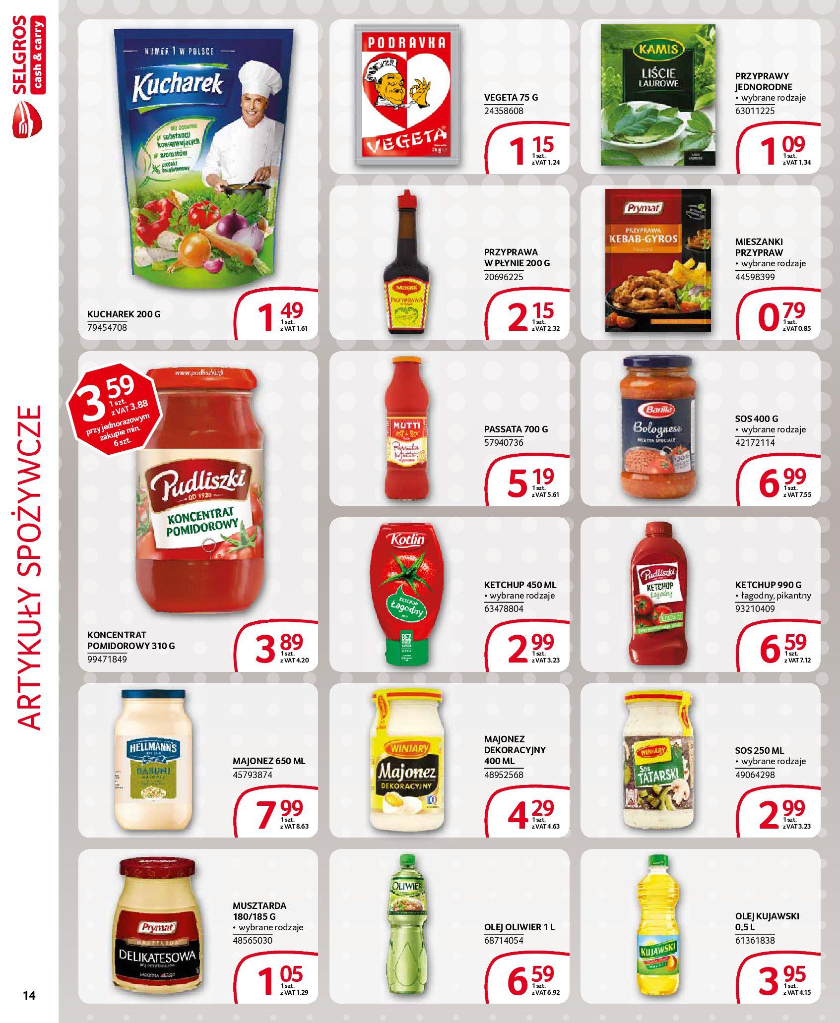 Gazetka Selgros - Extra oferta-18.03.2020-31.03.2020-page-14