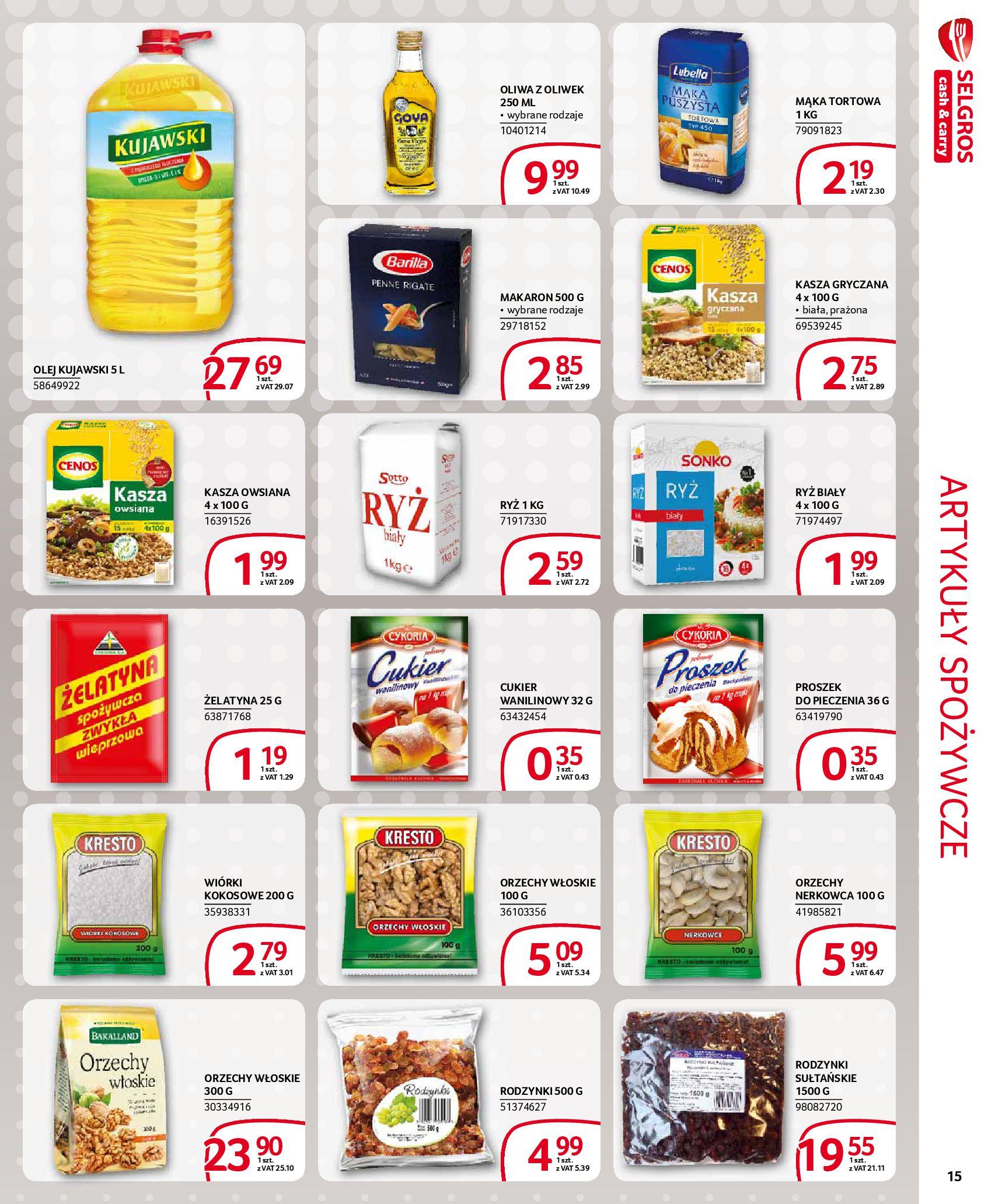 Gazetka Selgros - Extra oferta-18.03.2020-31.03.2020-page-15