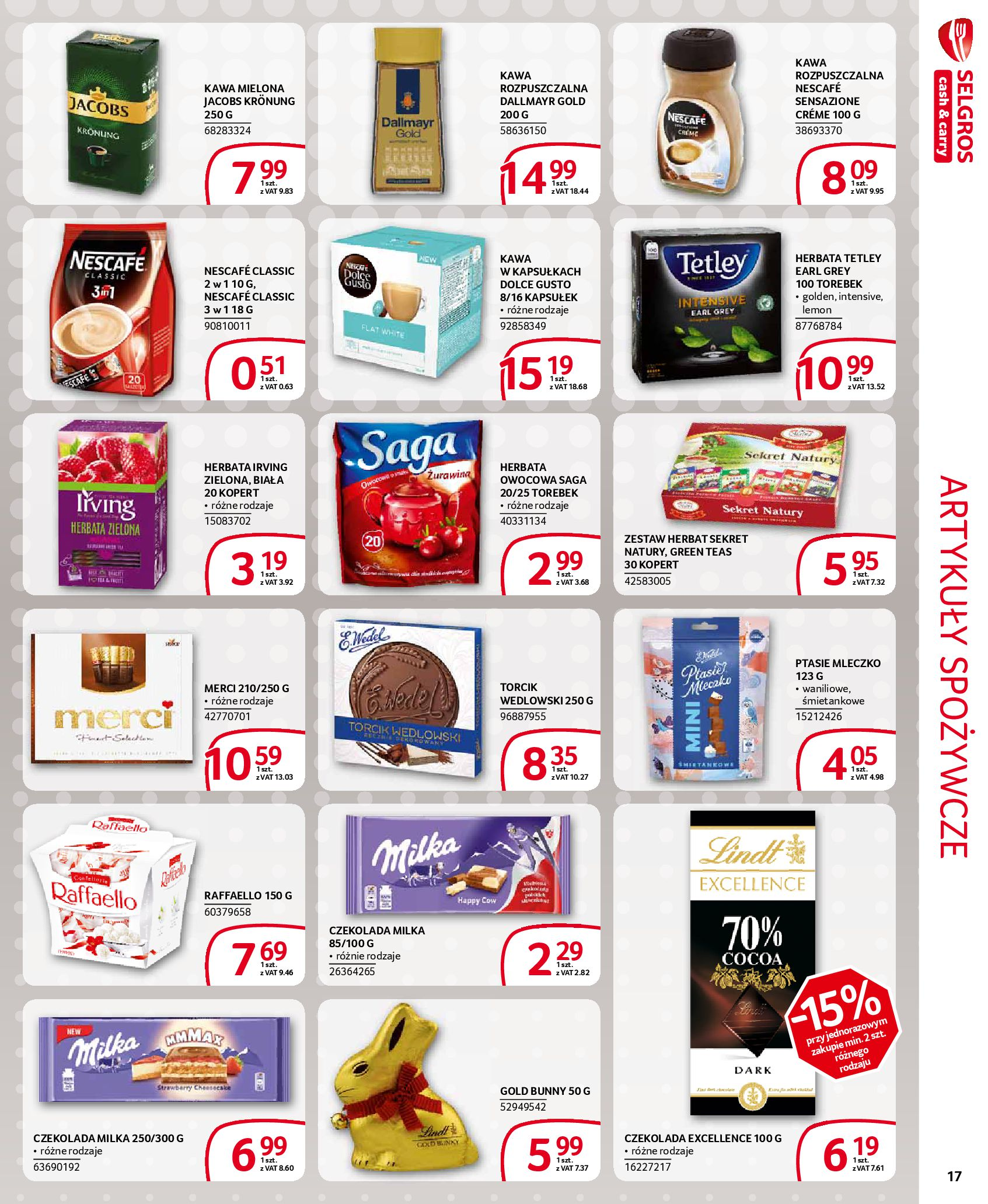 Gazetka Selgros - Extra oferta-18.03.2020-31.03.2020-page-17