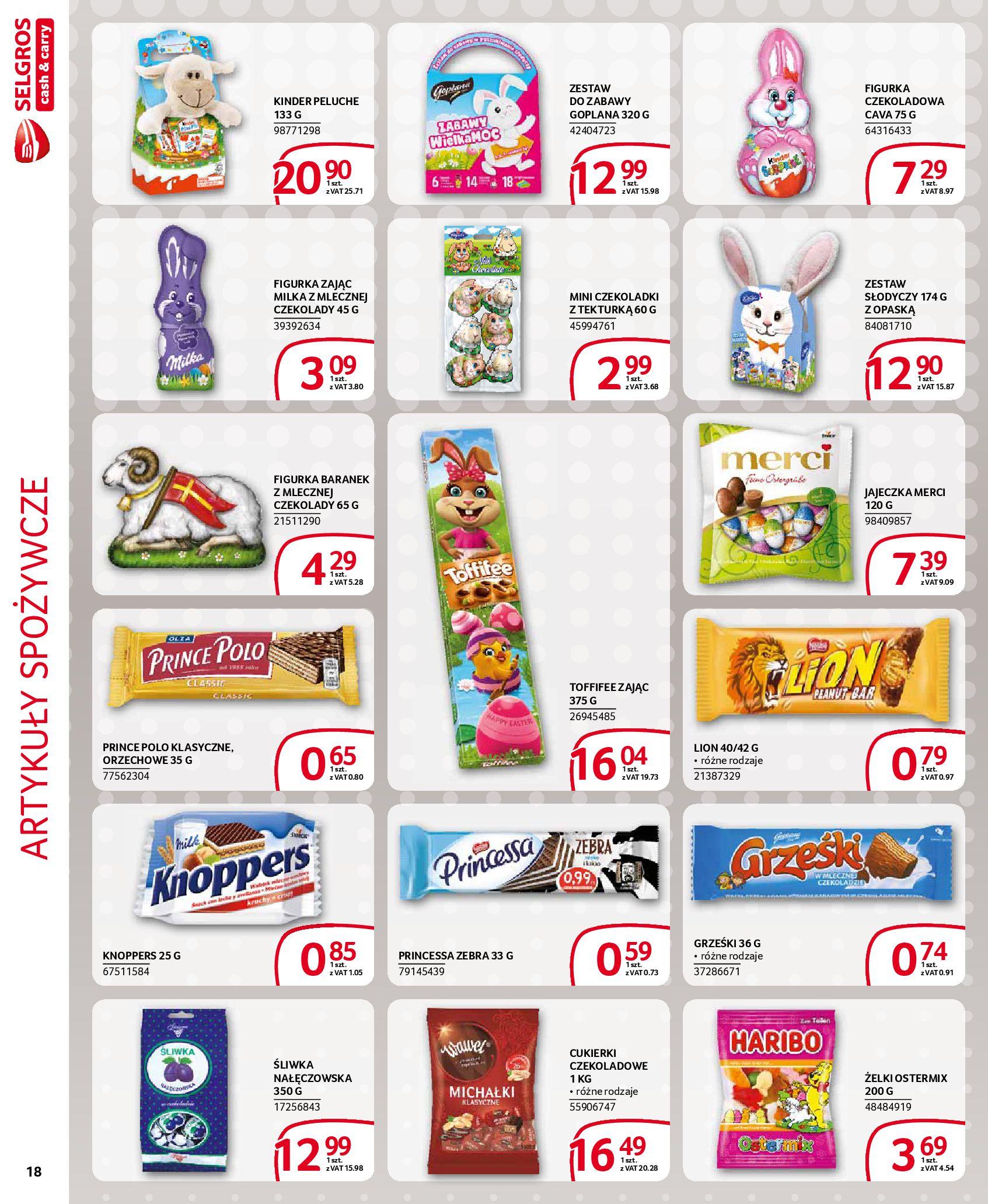 Gazetka Selgros - Extra oferta-18.03.2020-31.03.2020-page-18