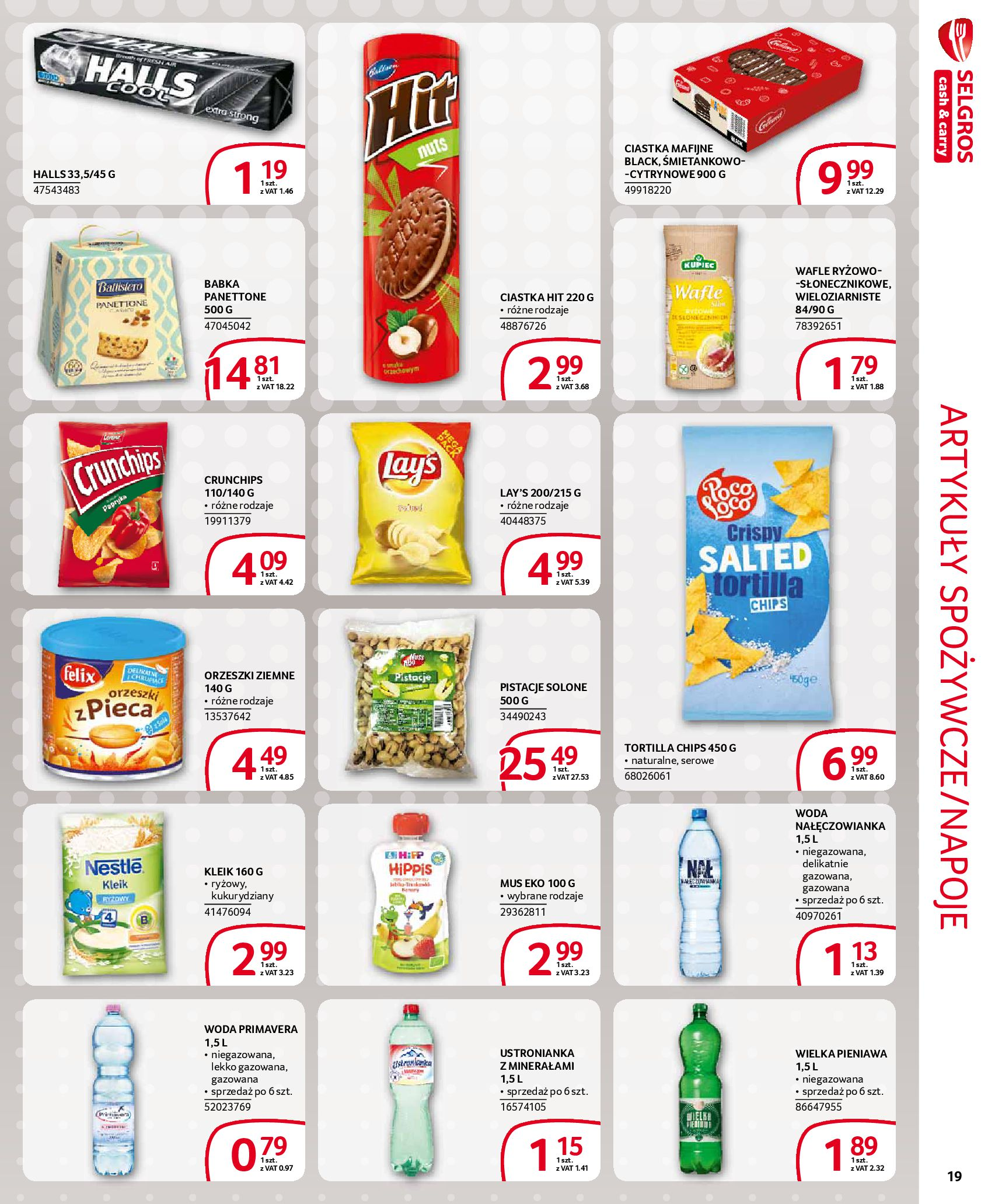 Gazetka Selgros - Extra oferta-18.03.2020-31.03.2020-page-19