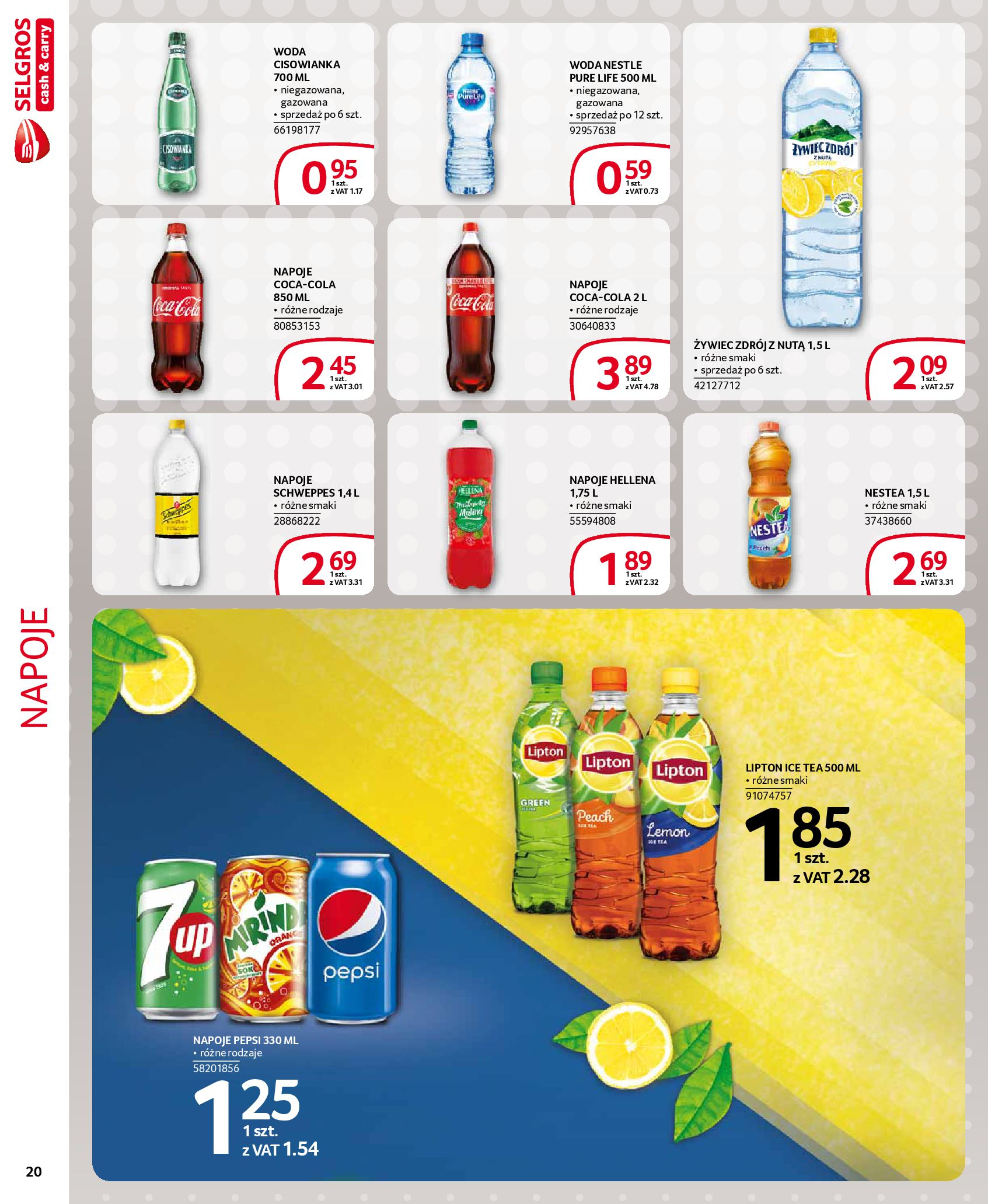 Gazetka Selgros - Extra oferta-18.03.2020-31.03.2020-page-20