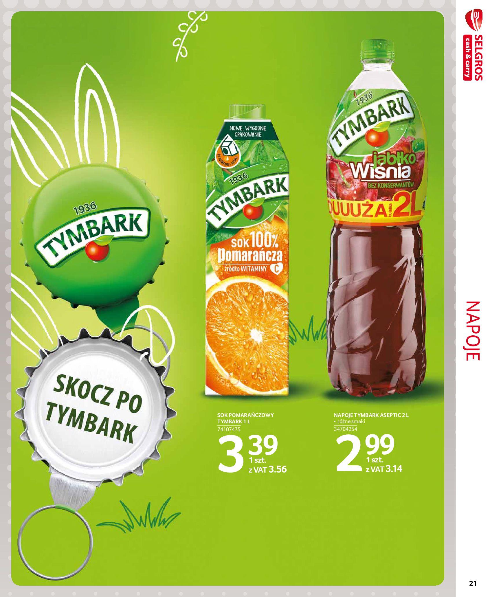 Gazetka Selgros - Extra oferta-18.03.2020-31.03.2020-page-21