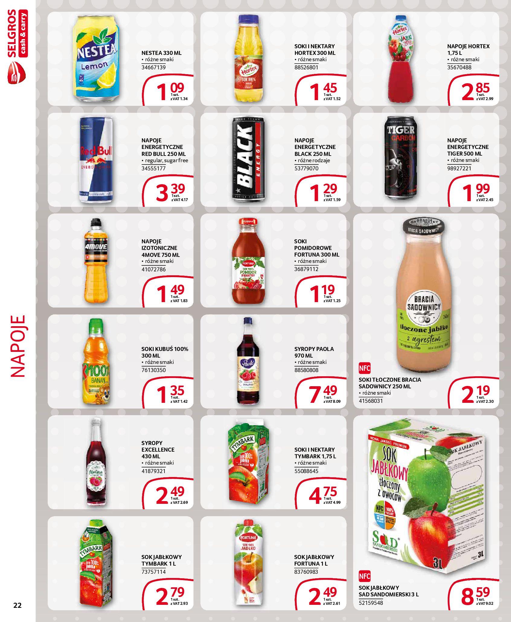 Gazetka Selgros - Extra oferta-18.03.2020-31.03.2020-page-22