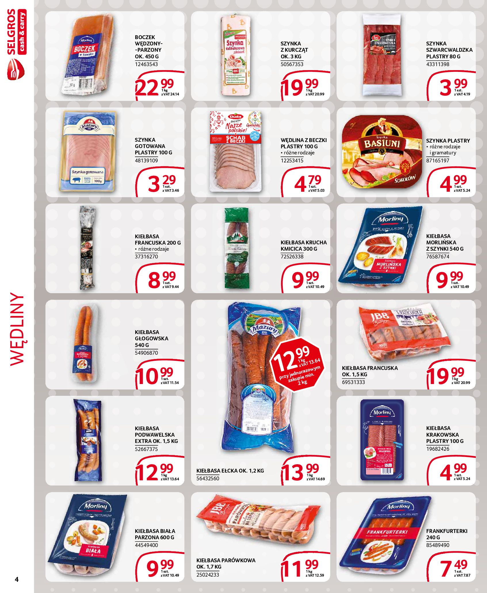 Gazetka Selgros - Extra oferta-18.03.2020-31.03.2020-page-4