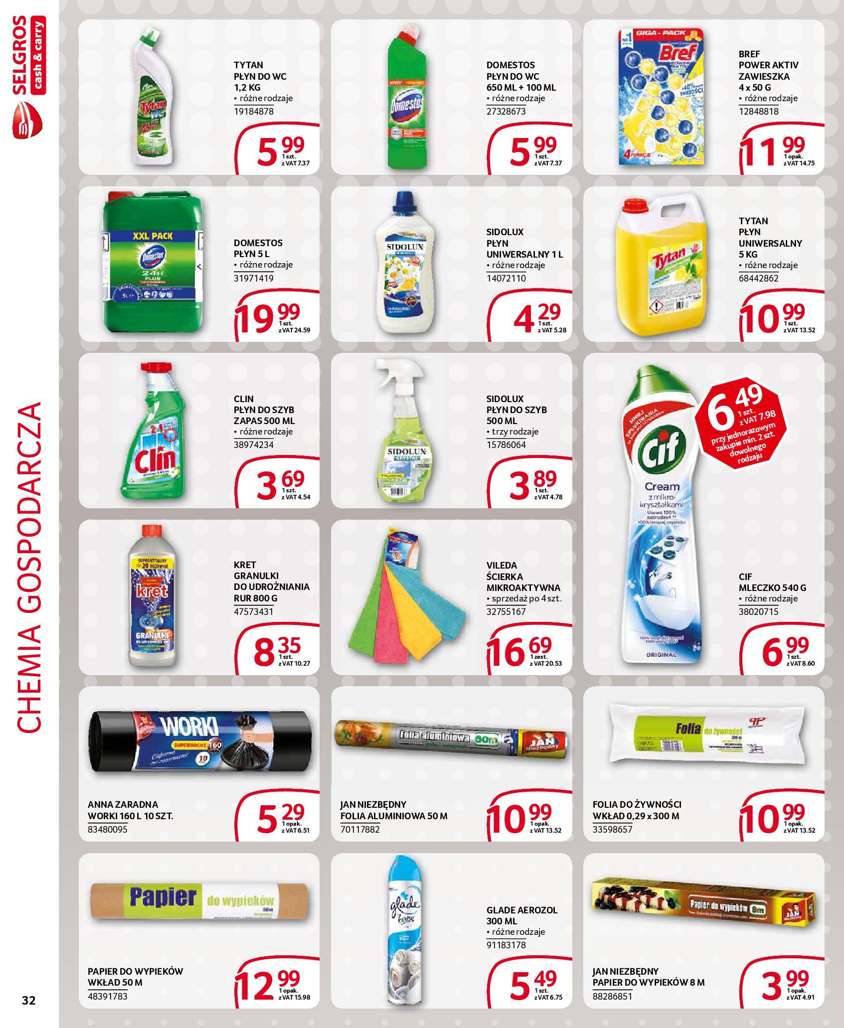 Gazetka Selgros - Extra oferta-18.03.2020-31.03.2020-page-32
