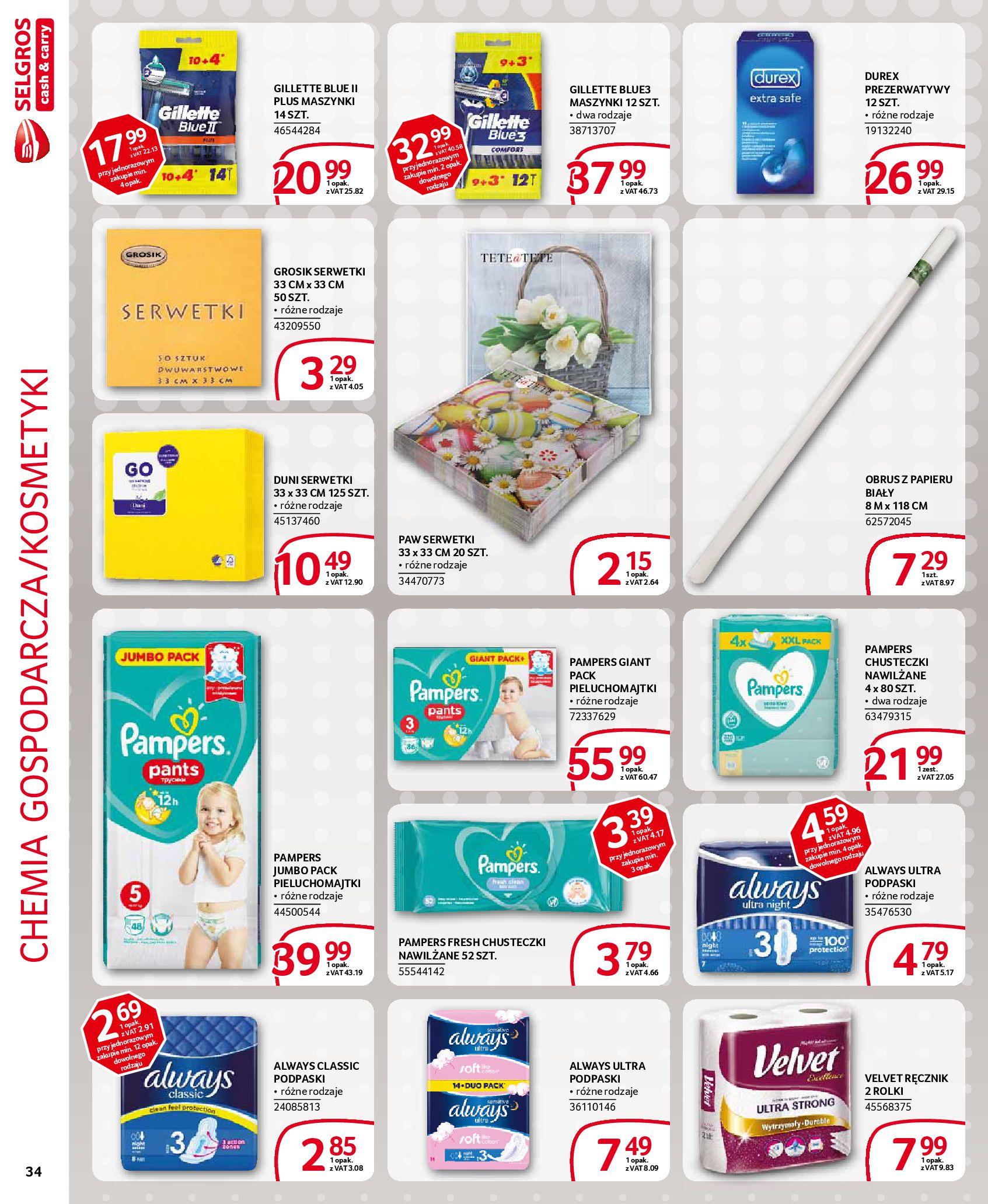 Gazetka Selgros - Extra oferta-18.03.2020-31.03.2020-page-34