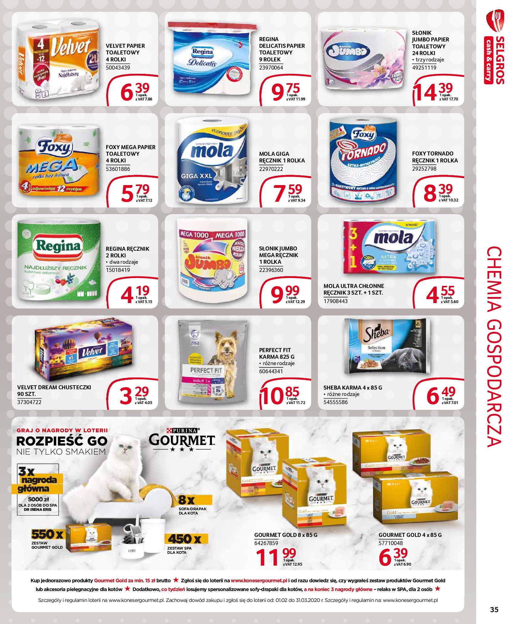 Gazetka Selgros - Extra oferta-18.03.2020-31.03.2020-page-35