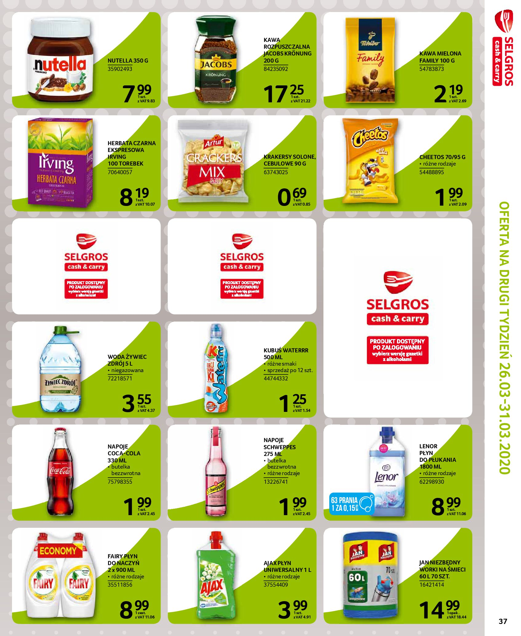 Gazetka Selgros - Extra oferta-18.03.2020-31.03.2020-page-37