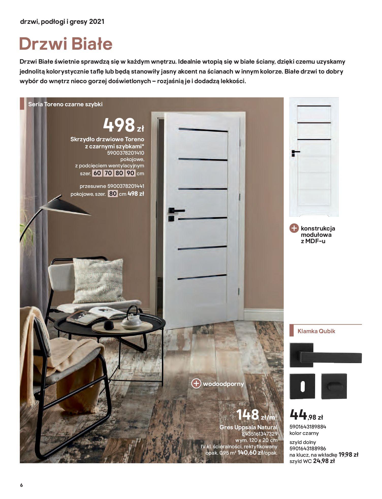 Gazetka Castorama: Gazetka Castorama - Przewodnik drzwi i podłogi 2021 2021-08-11 page-6