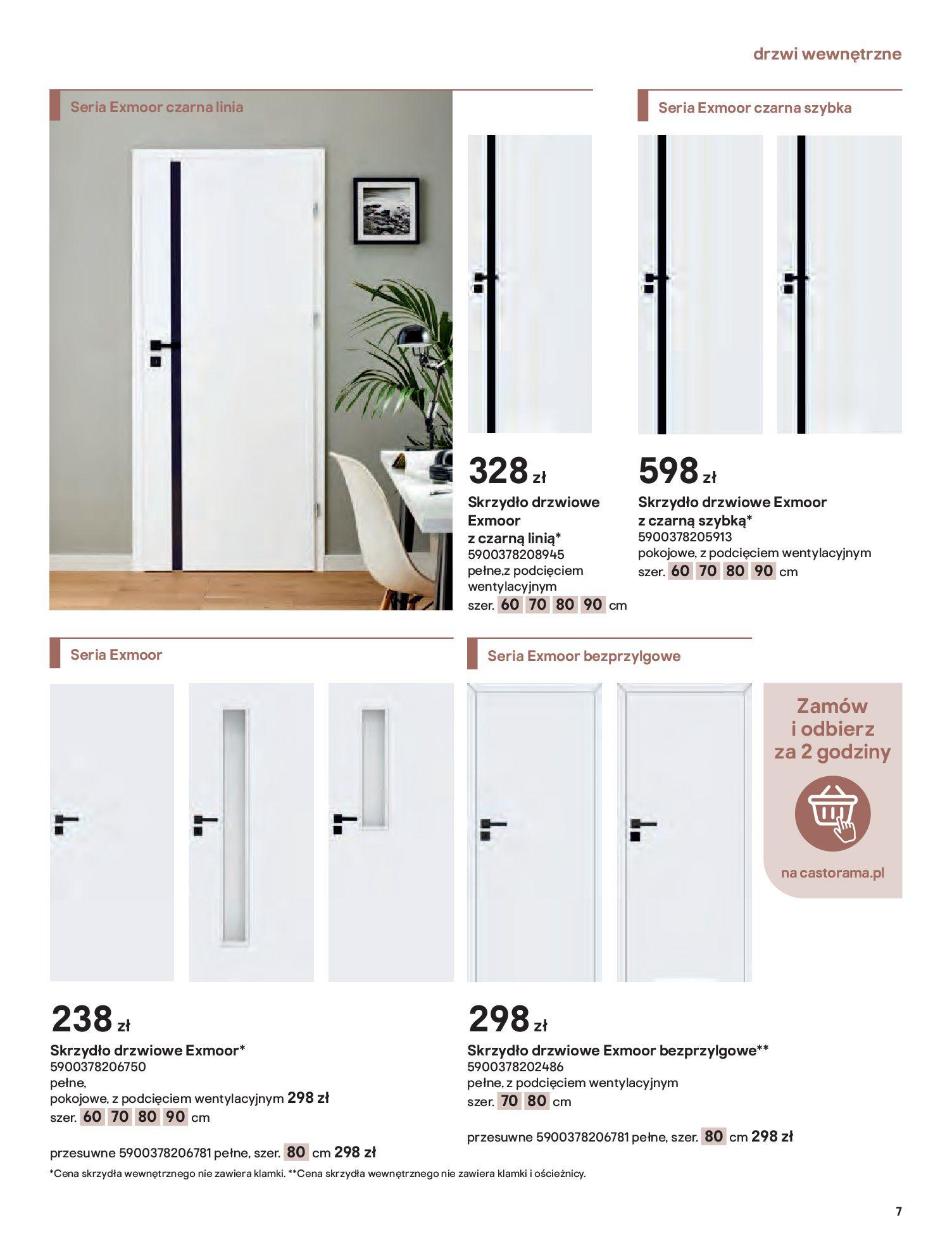 Gazetka Castorama: Gazetka Castorama - Przewodnik drzwi i podłogi 2021 2021-08-11 page-7