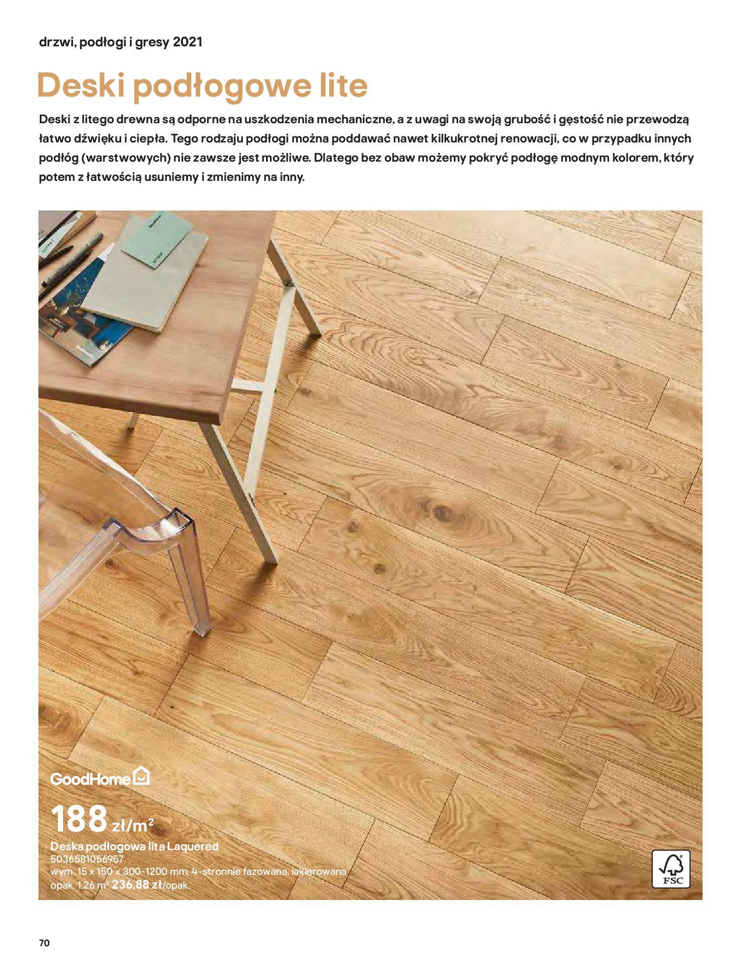 Gazetka Castorama: Gazetka Castorama - Przewodnik drzwi i podłogi 2021 2021-08-11 page-70