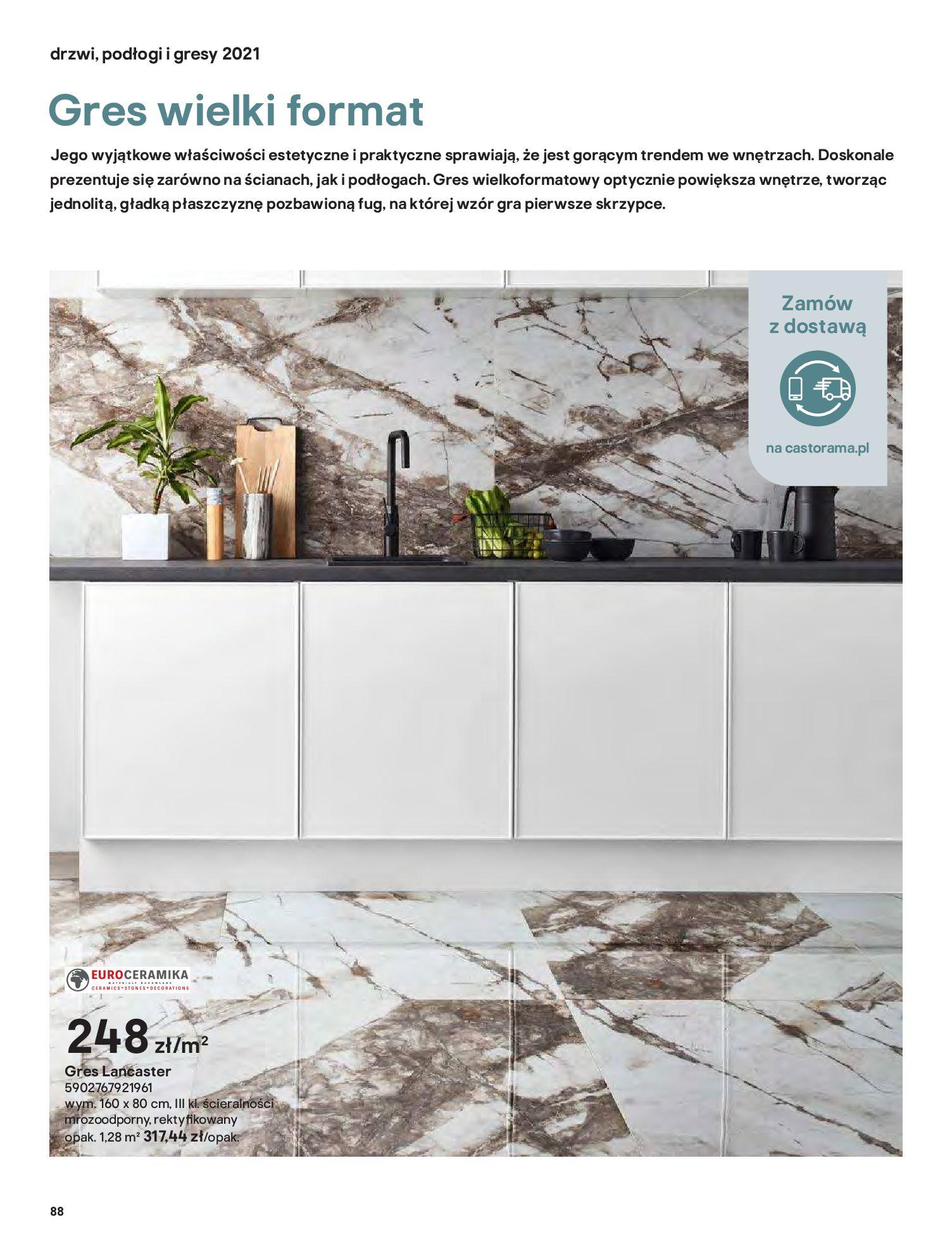 Gazetka Castorama: Gazetka Castorama - Przewodnik drzwi i podłogi 2021 2021-08-11 page-88