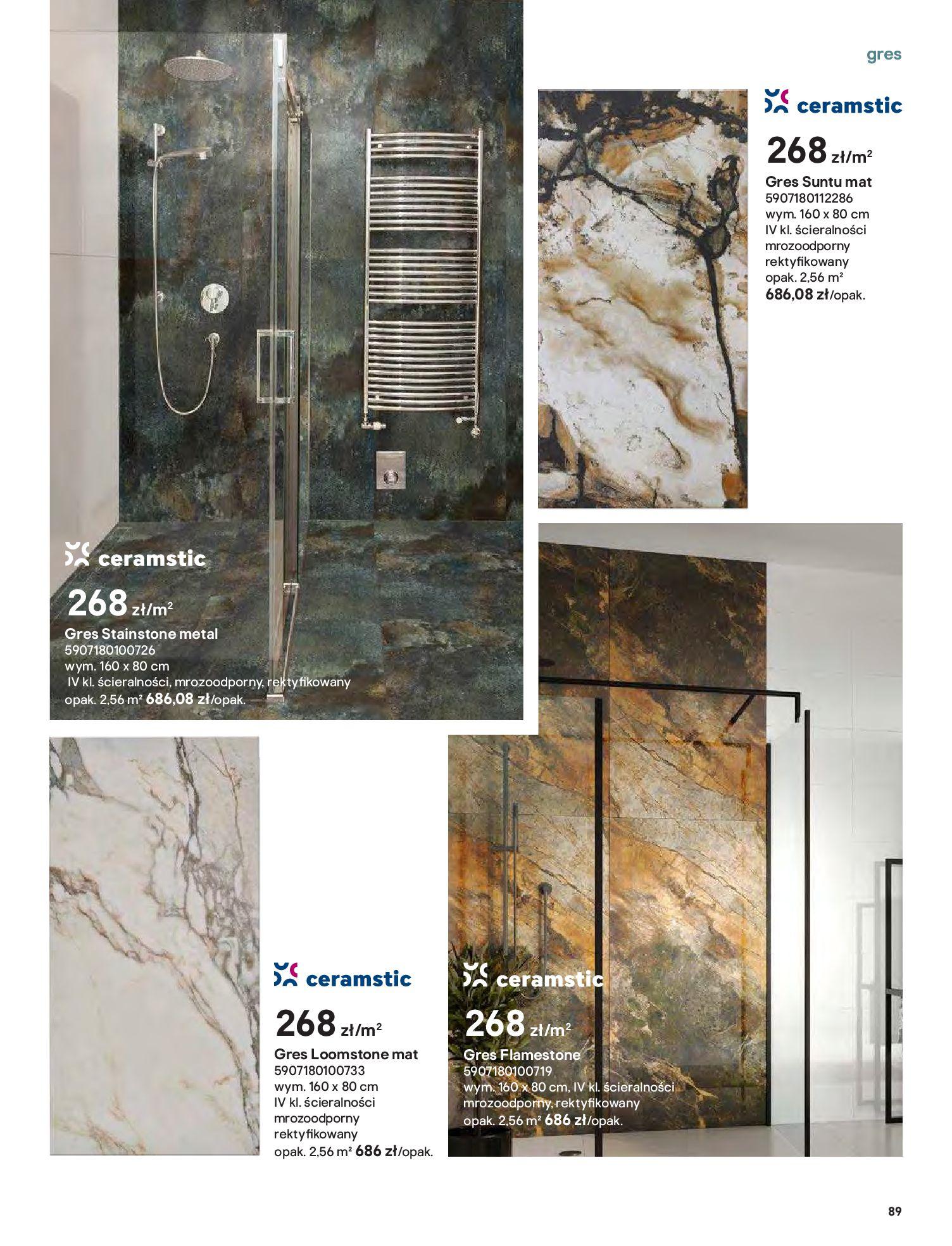 Gazetka Castorama: Gazetka Castorama - Przewodnik drzwi i podłogi 2021 2021-08-11 page-89