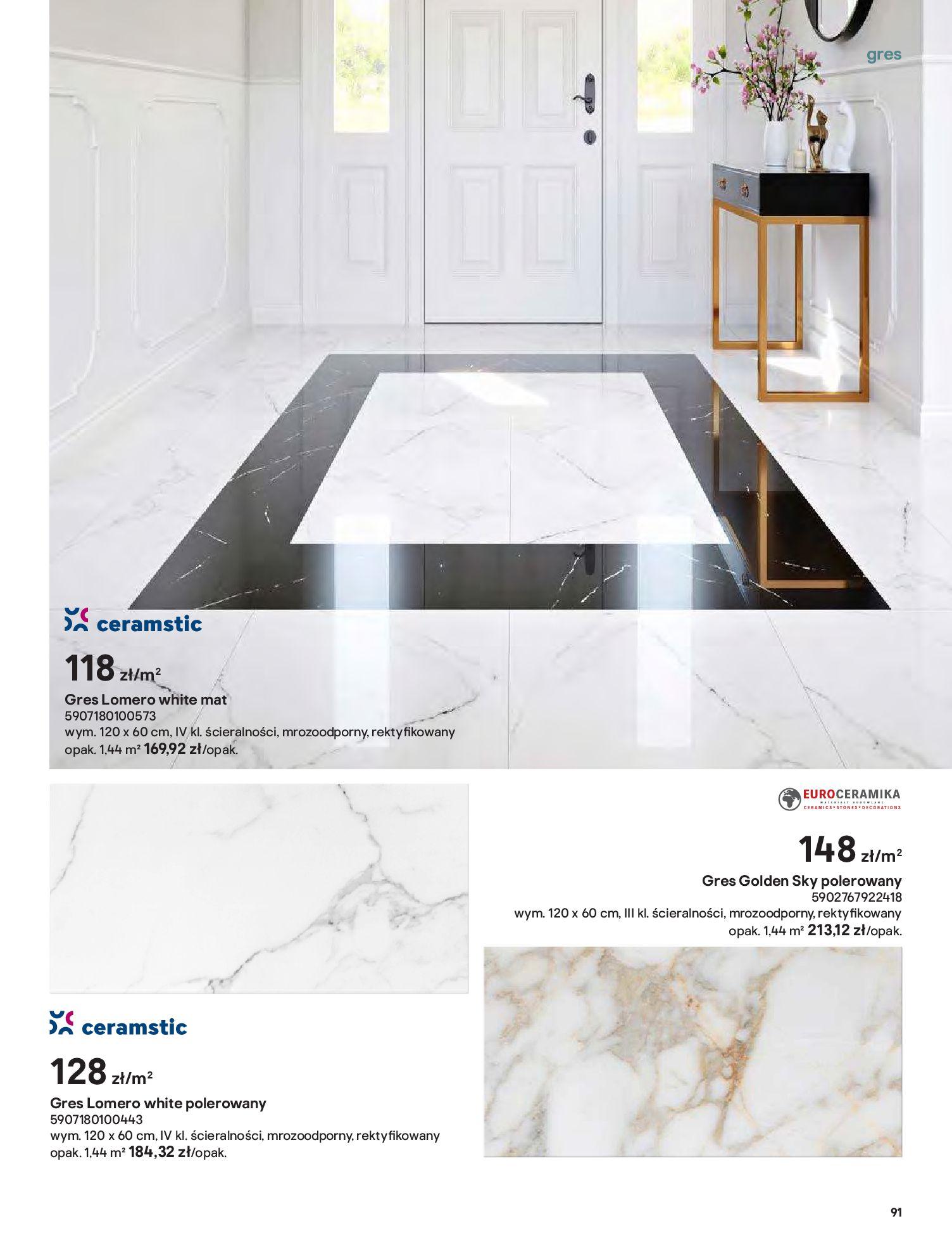 Gazetka Castorama: Gazetka Castorama - Przewodnik drzwi i podłogi 2021 2021-08-11 page-91