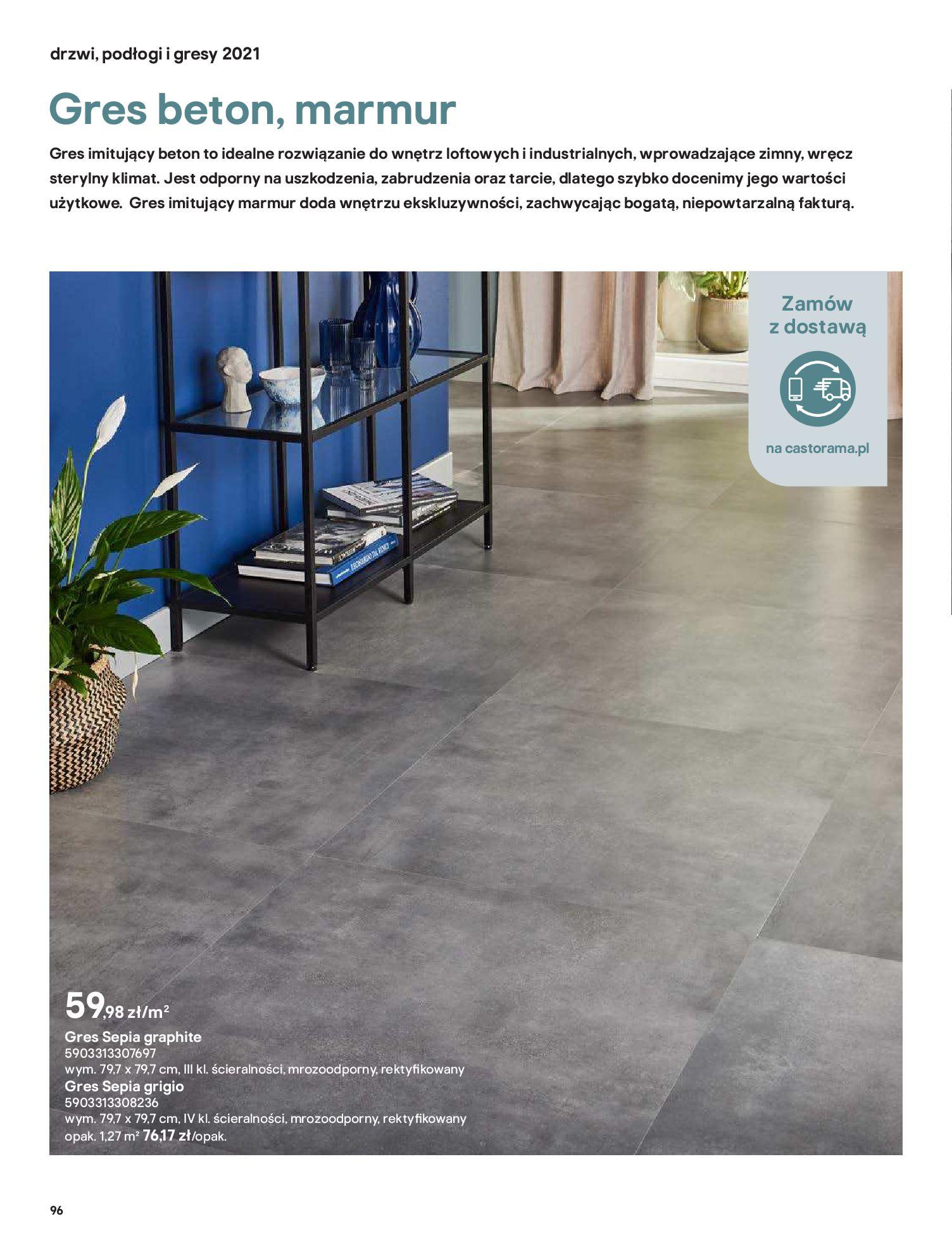 Gazetka Castorama: Gazetka Castorama - Przewodnik drzwi i podłogi 2021 2021-08-11 page-96