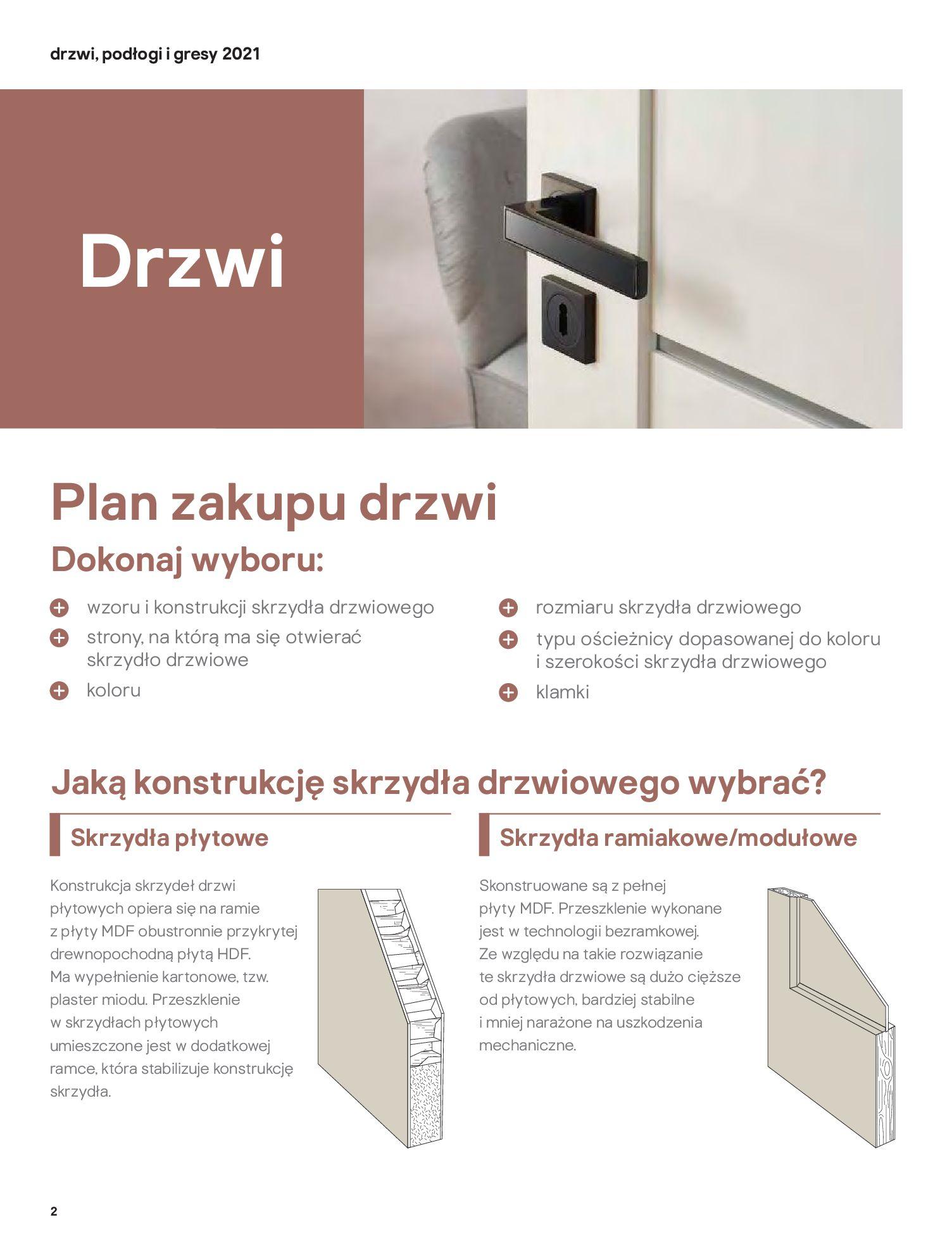 Gazetka Castorama: Gazetka Castorama - Przewodnik drzwi i podłogi 2021 2021-08-11 page-2