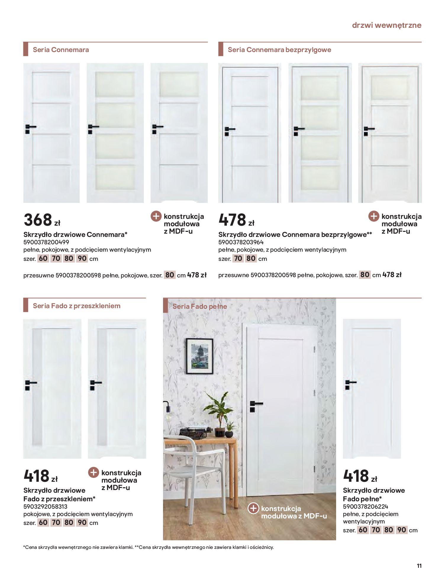 Gazetka Castorama: Gazetka Castorama - Przewodnik drzwi i podłogi 2021 2021-08-11 page-11