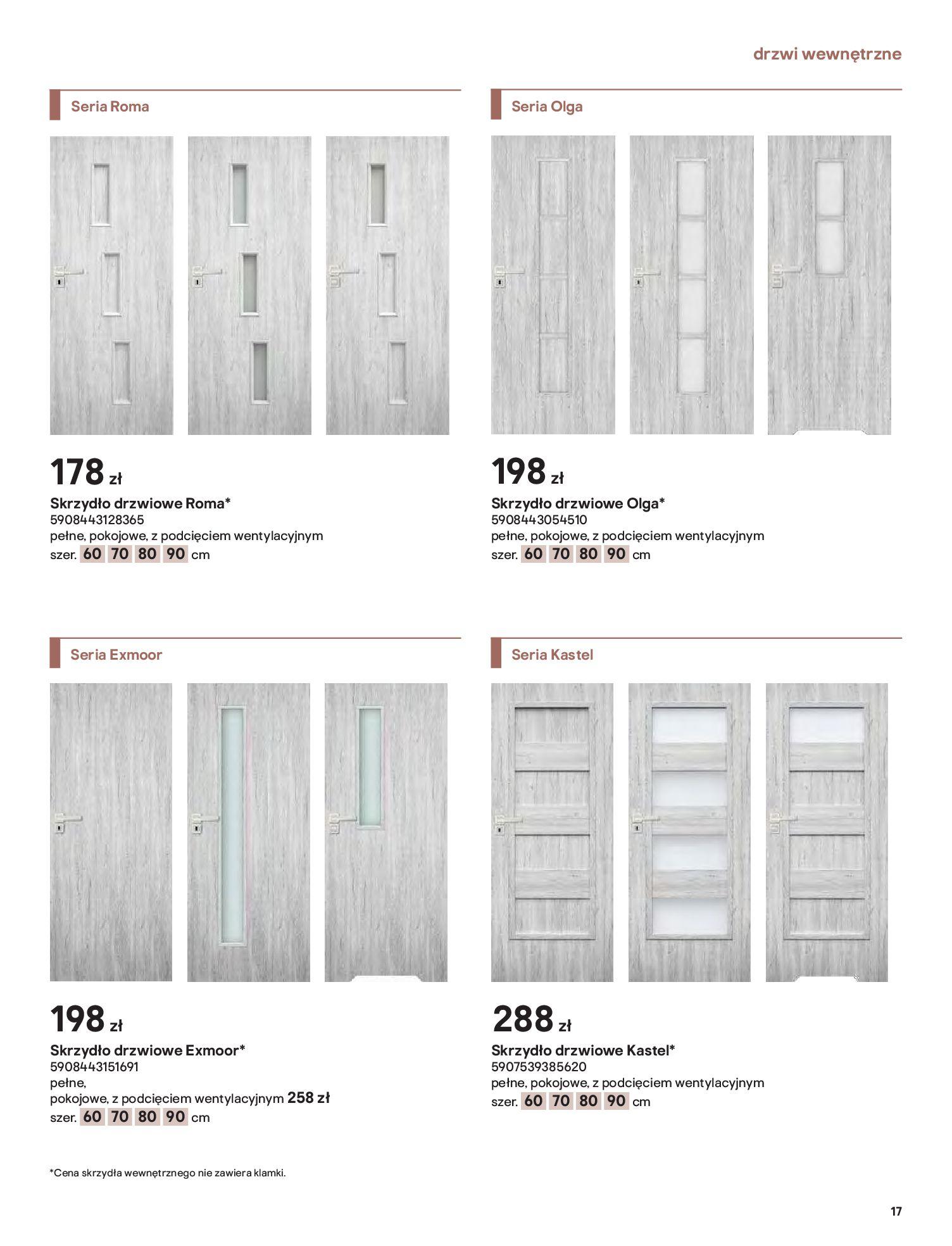 Gazetka Castorama: Gazetka Castorama - Przewodnik drzwi i podłogi 2021 2021-08-11 page-17