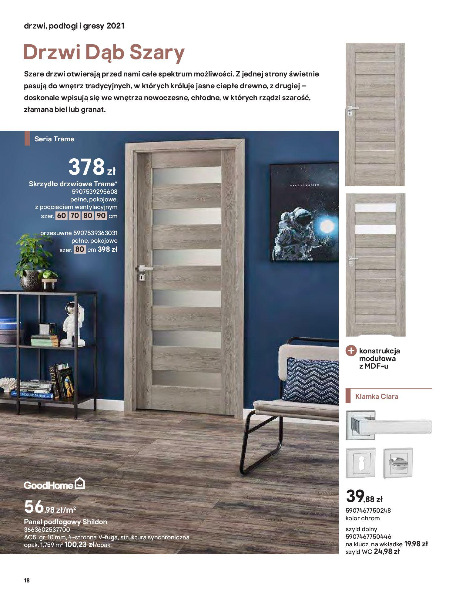 Gazetka Castorama: Gazetka Castorama - Przewodnik drzwi i podłogi 2021 2021-08-11 page-18