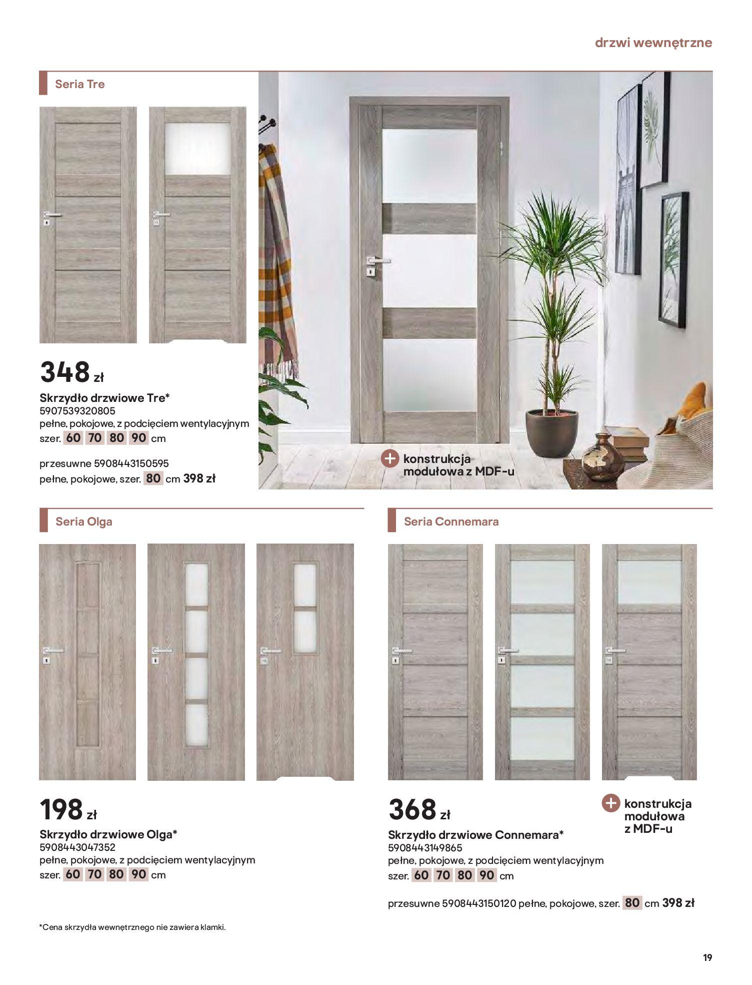 Gazetka Castorama: Gazetka Castorama - Przewodnik drzwi i podłogi 2021 2021-08-11 page-19