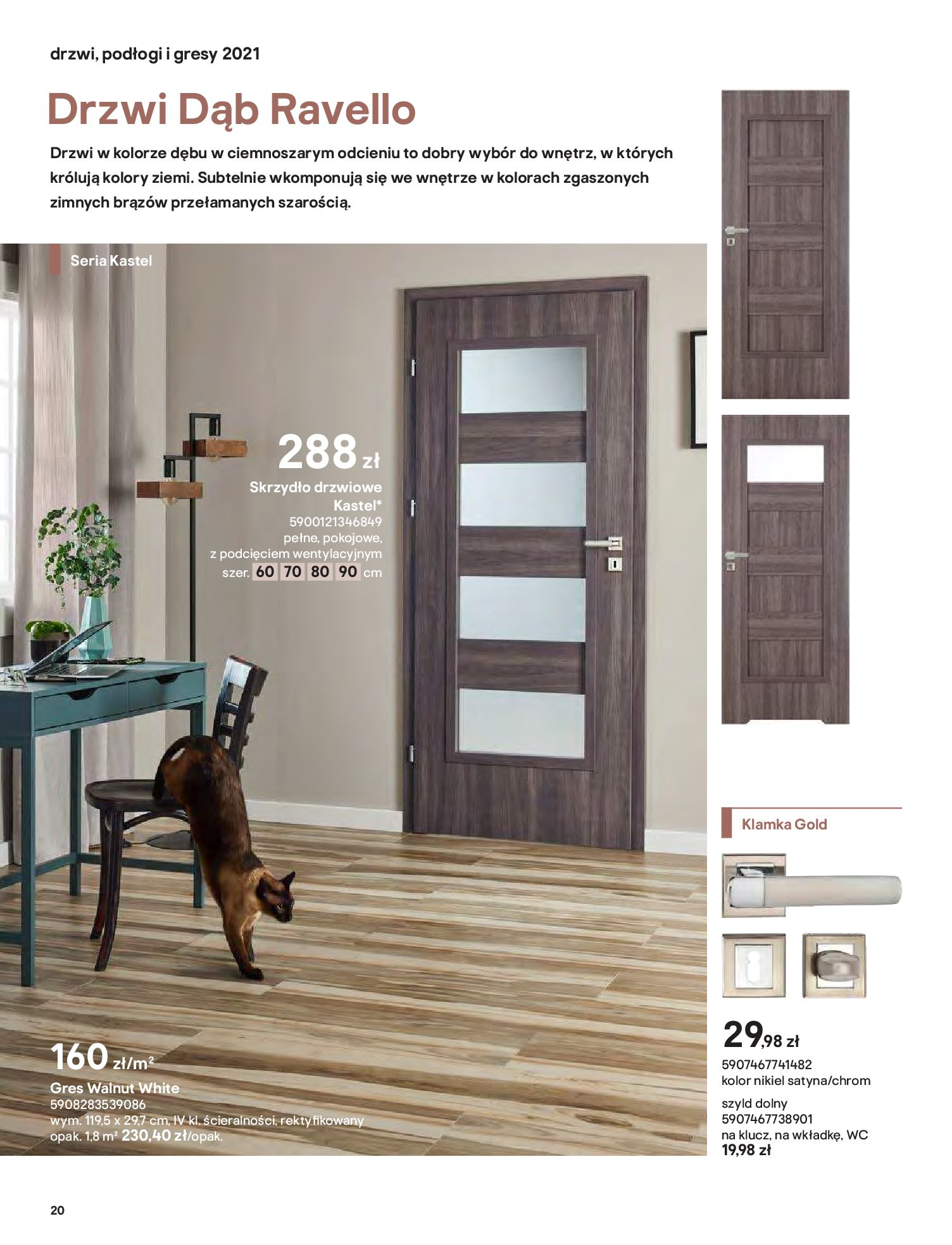 Gazetka Castorama: Gazetka Castorama - Przewodnik drzwi i podłogi 2021 2021-08-11 page-20