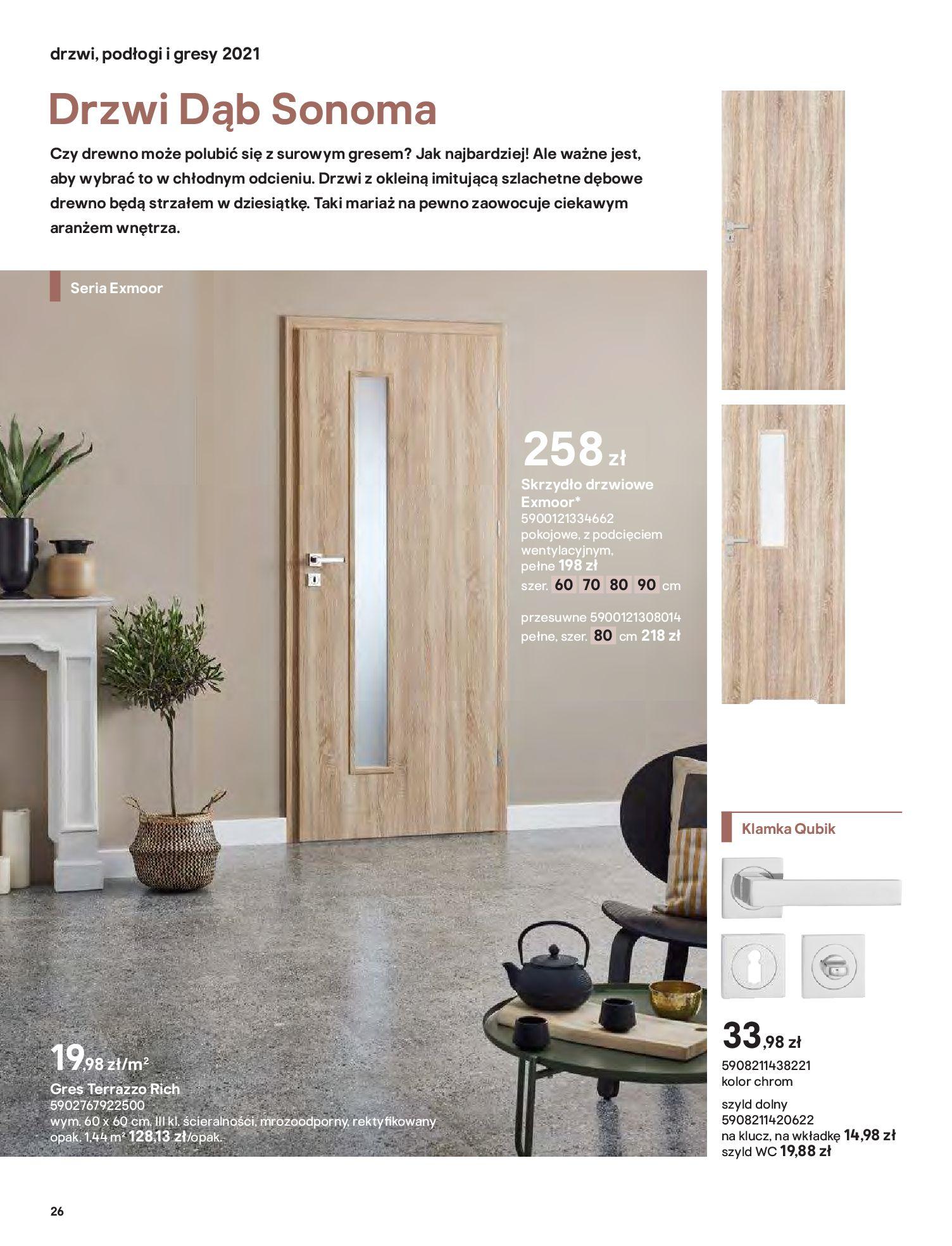 Gazetka Castorama: Gazetka Castorama - Przewodnik drzwi i podłogi 2021 2021-08-11 page-26