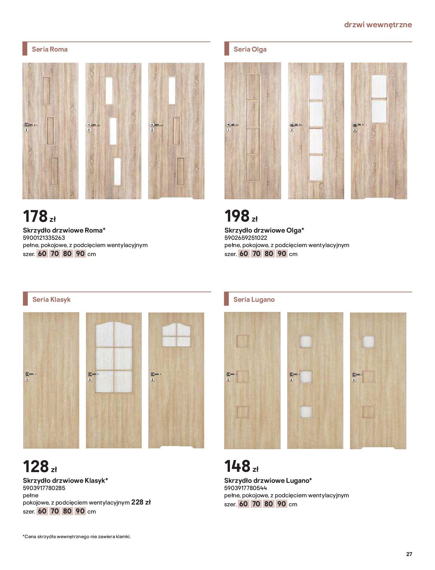 Gazetka Castorama: Gazetka Castorama - Przewodnik drzwi i podłogi 2021 2021-08-11 page-27