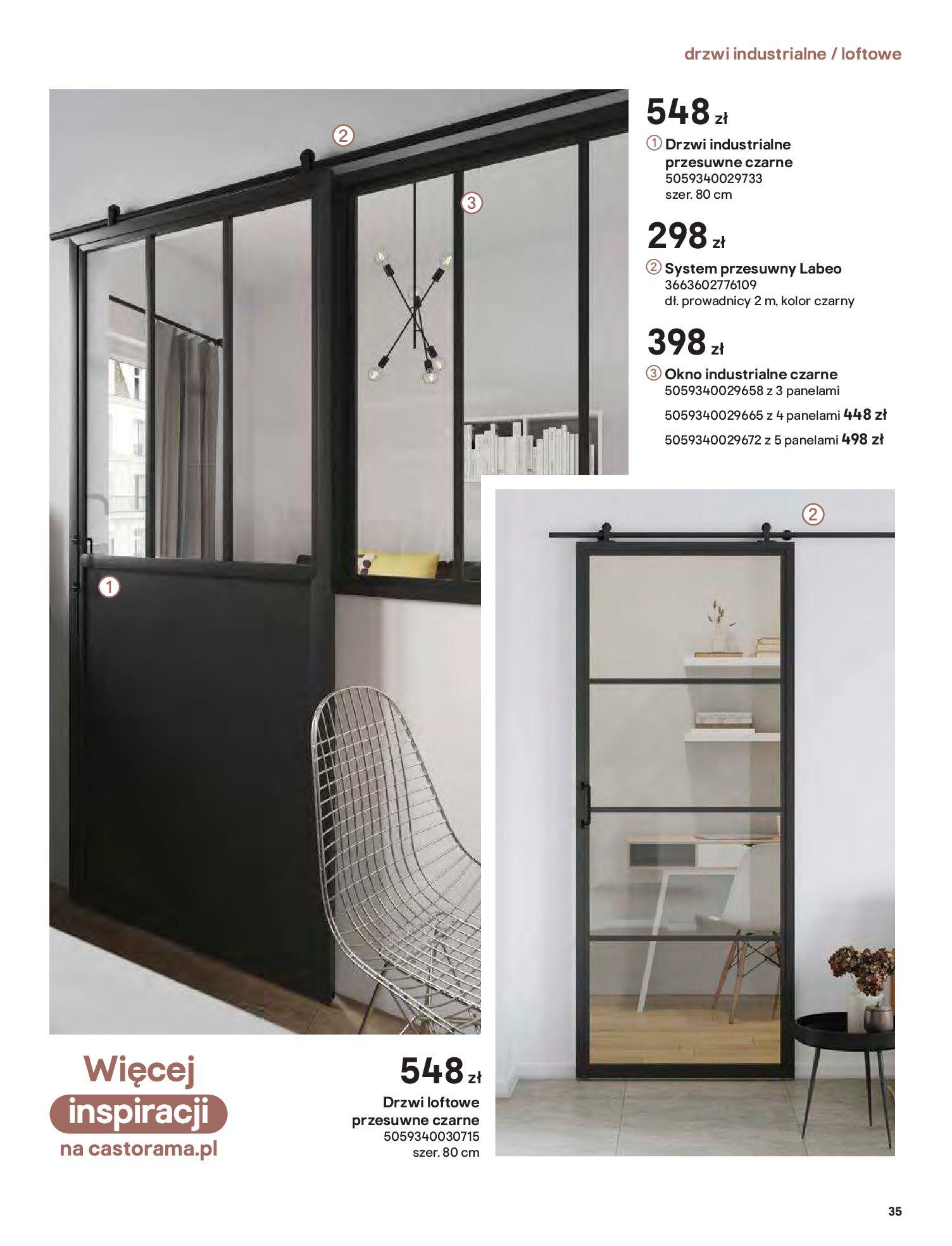 Gazetka Castorama: Gazetka Castorama - Przewodnik drzwi i podłogi 2021 2021-08-11 page-35