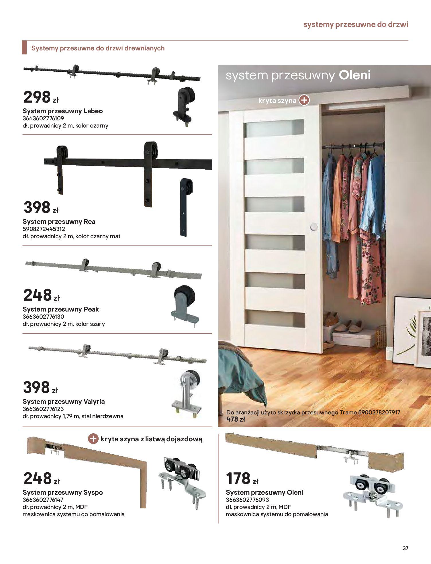 Gazetka Castorama: Gazetka Castorama - Przewodnik drzwi i podłogi 2021 2021-08-11 page-37