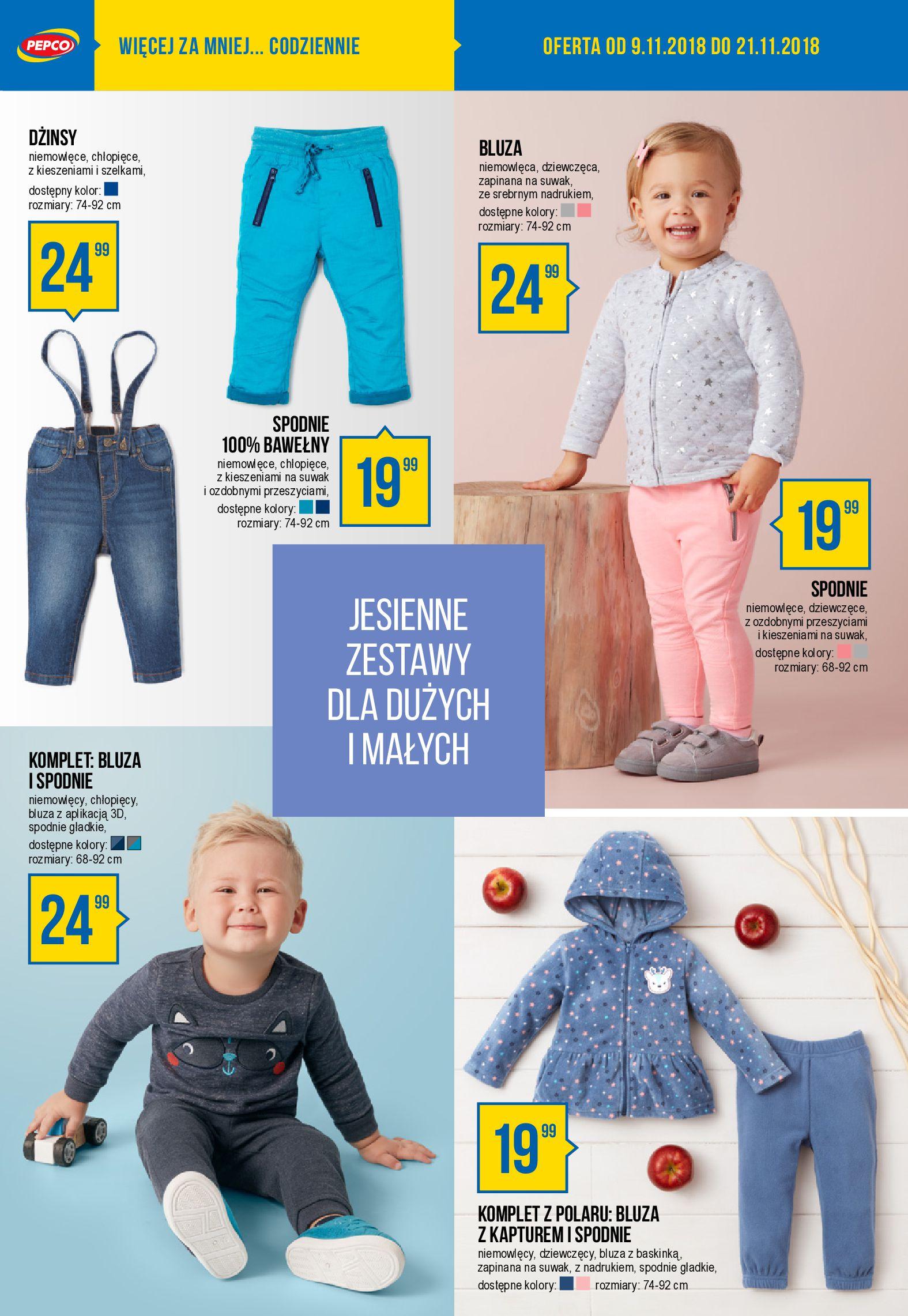 Gazetka Pepco - Baw się modą w chłodne dni za mniej niż myślisz!-07.11.2018-21.11.2018-page-