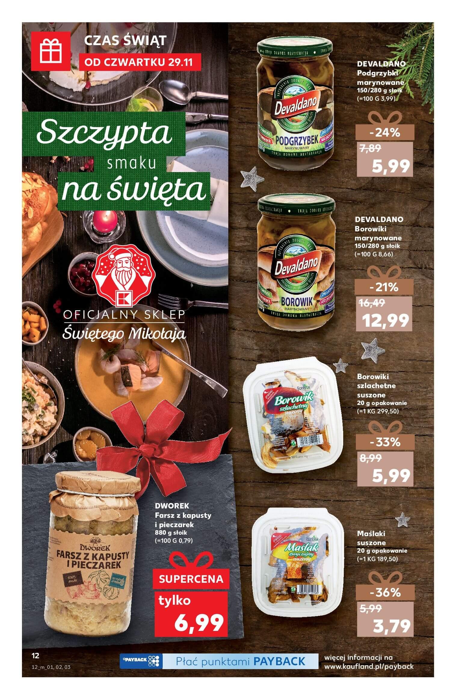 Gazetka Kaufland - Na dobre święta-28.11.2018-24.12.2018-page-