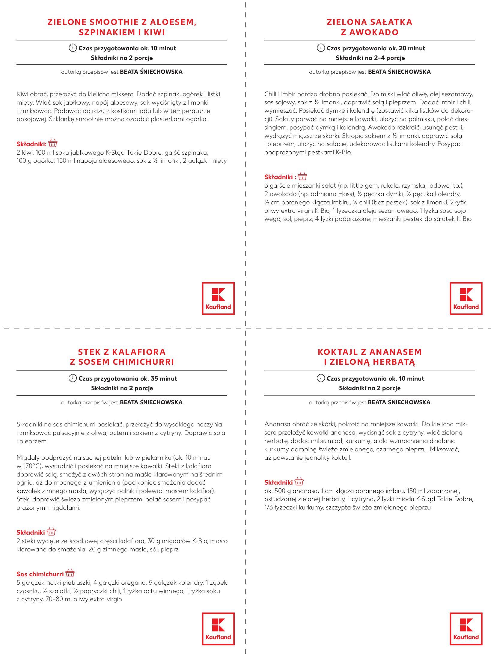 """Gazetka Kaufland: Magazyn """"Dobrze żyć dobrze"""" 2021-02-24 page-18"""