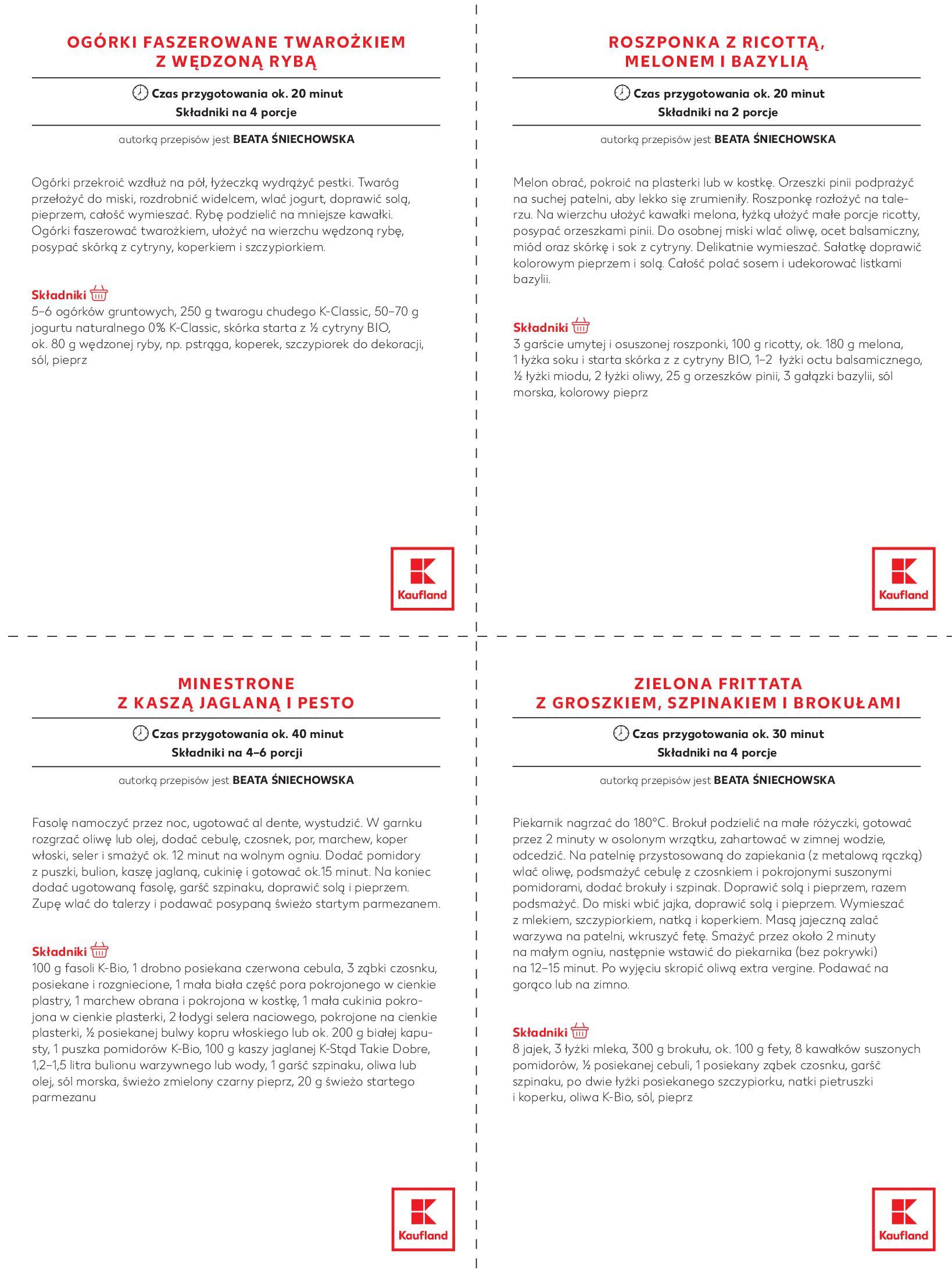 """Gazetka Kaufland: Magazyn """"Dobrze żyć dobrze"""" 2021-02-24 page-20"""