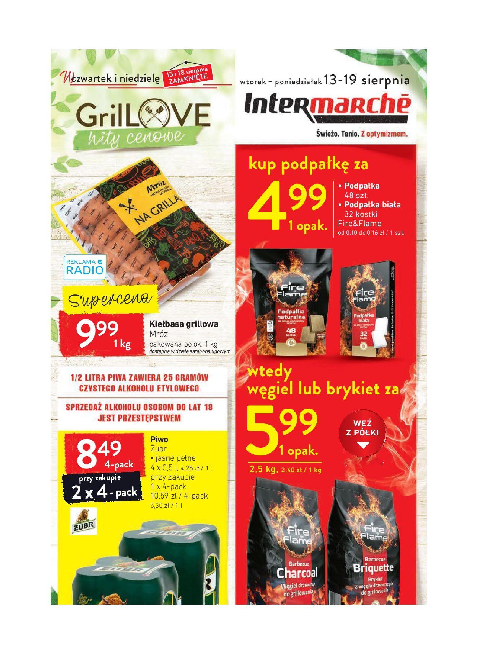 Gazetka Intermarché - Oferta promocyjna-12.08.2019-19.08.2019-page-1