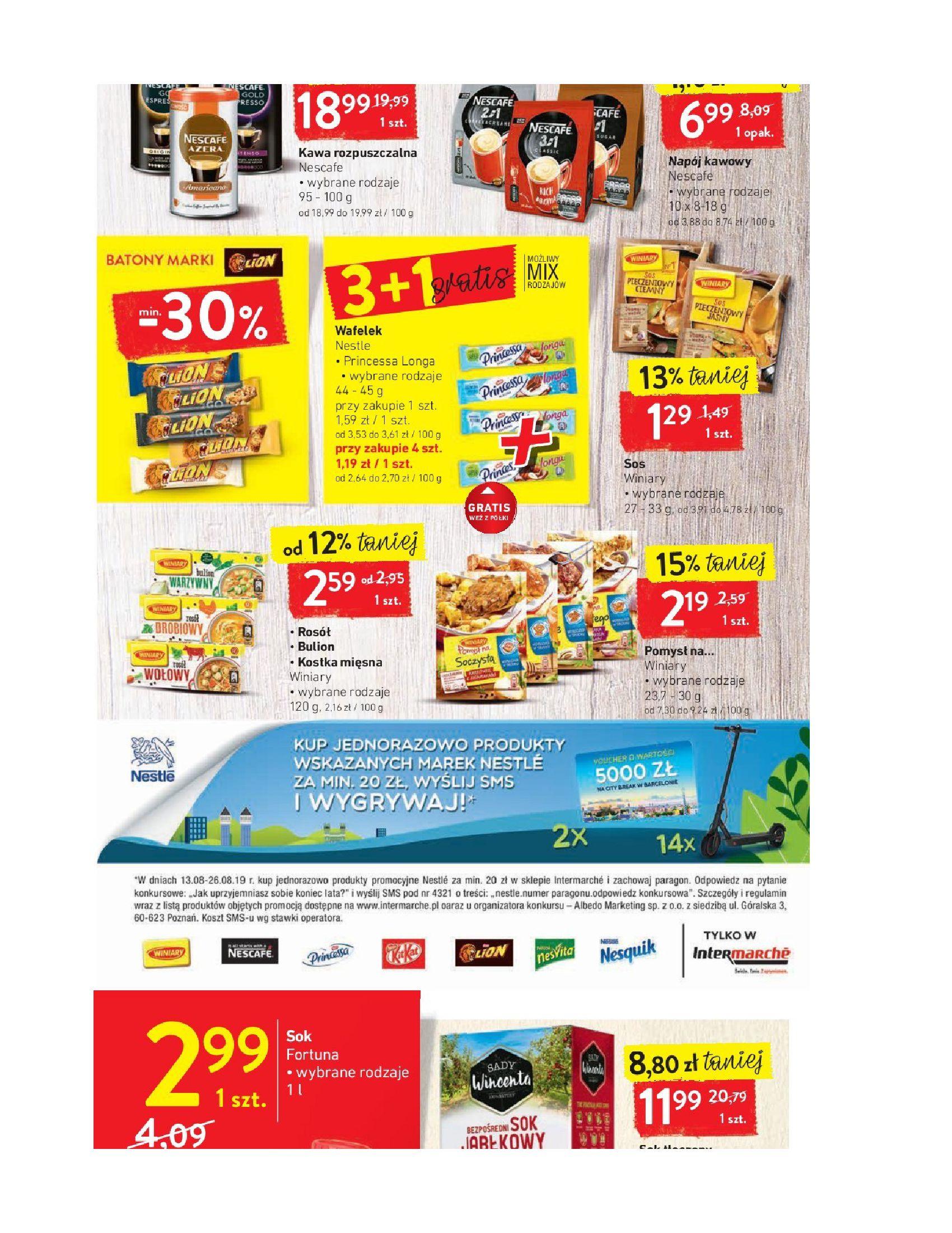 Gazetka Intermarché - Oferta promocyjna-12.08.2019-19.08.2019-page-18