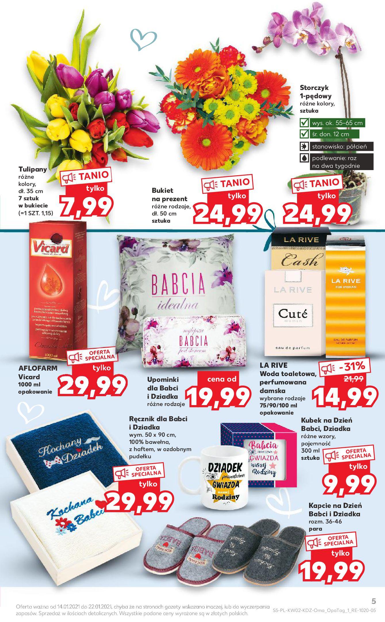 Gazetka Kaufland: Gazetka promocyjna od 13.01 2021-01-14 page-5