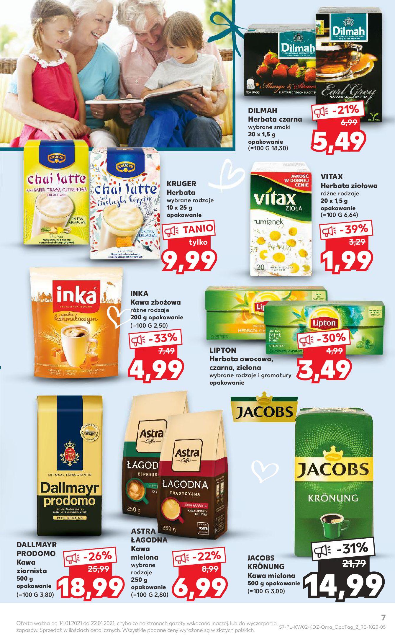 Gazetka Kaufland: Gazetka promocyjna od 13.01 2021-01-14 page-7